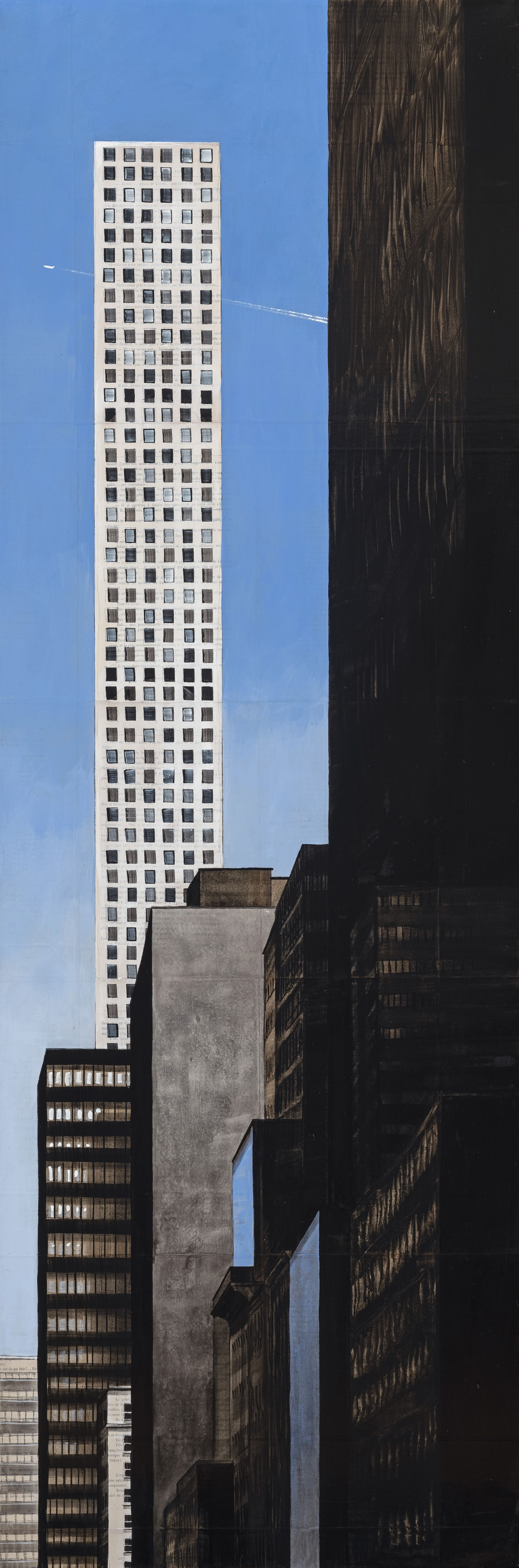 57th and Broadway,Guillaume Chansarel,Peinture