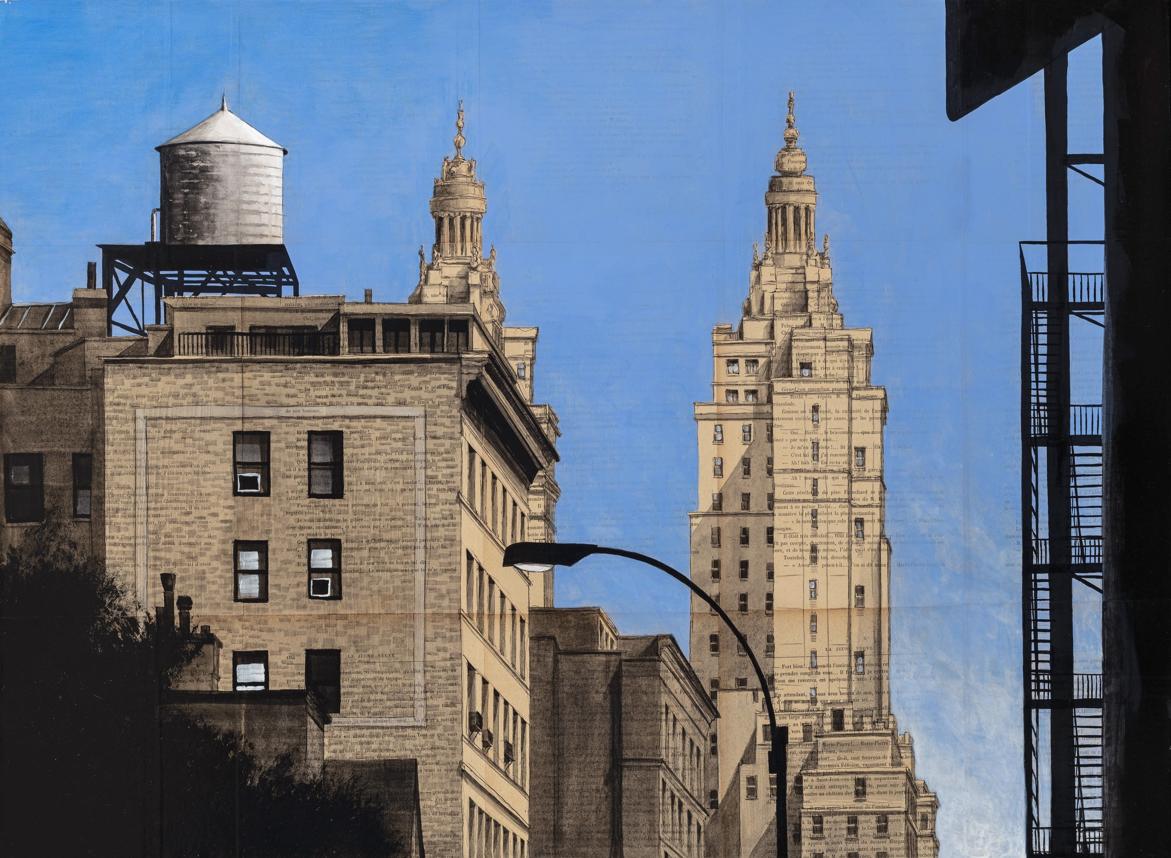 74th and Broadway,Guillaume Chansarel,Peinture