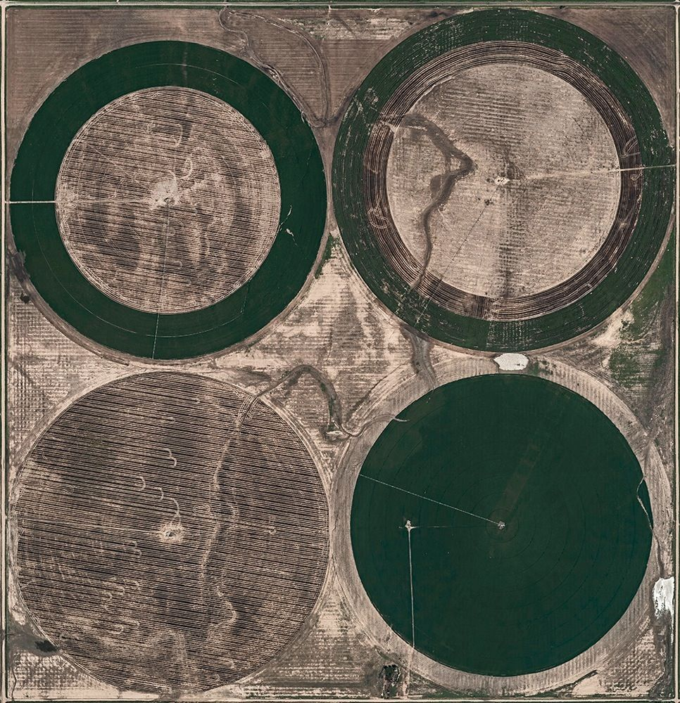 Aerial Views, Circle Irrigation 04