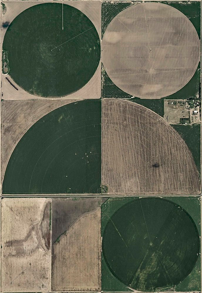 Aerial Views, Circle Irrigation 10