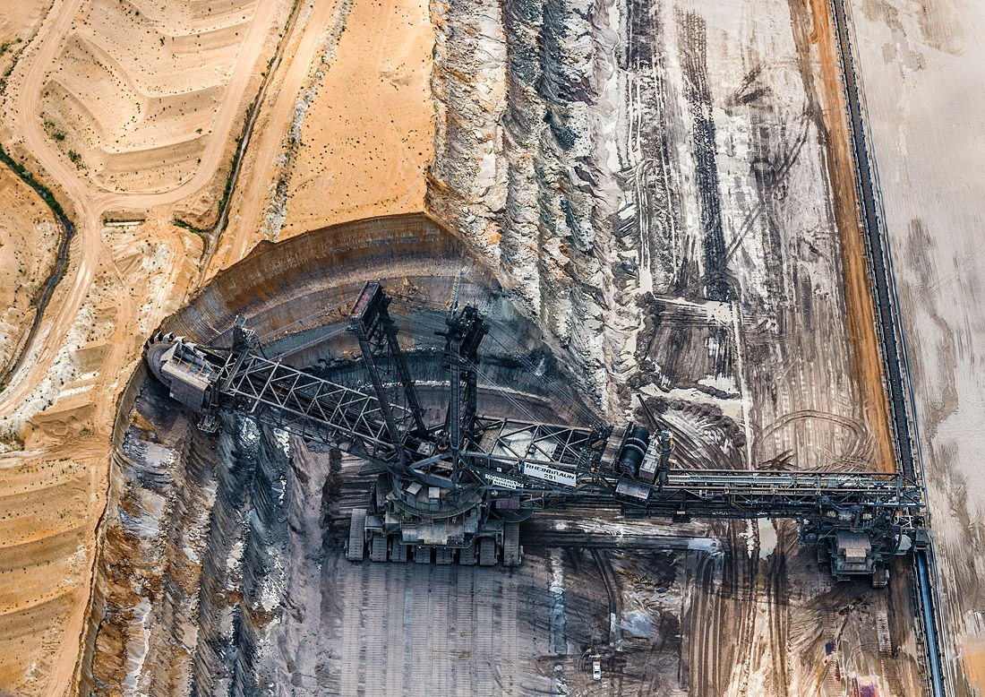 Aerial Views, Coal Mine 16
