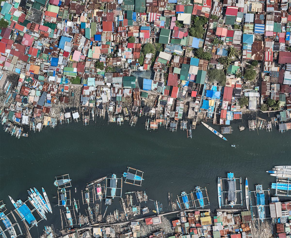 Aerial Views, Manila 05 ,Bernhard Lang,Photographie contemporaine