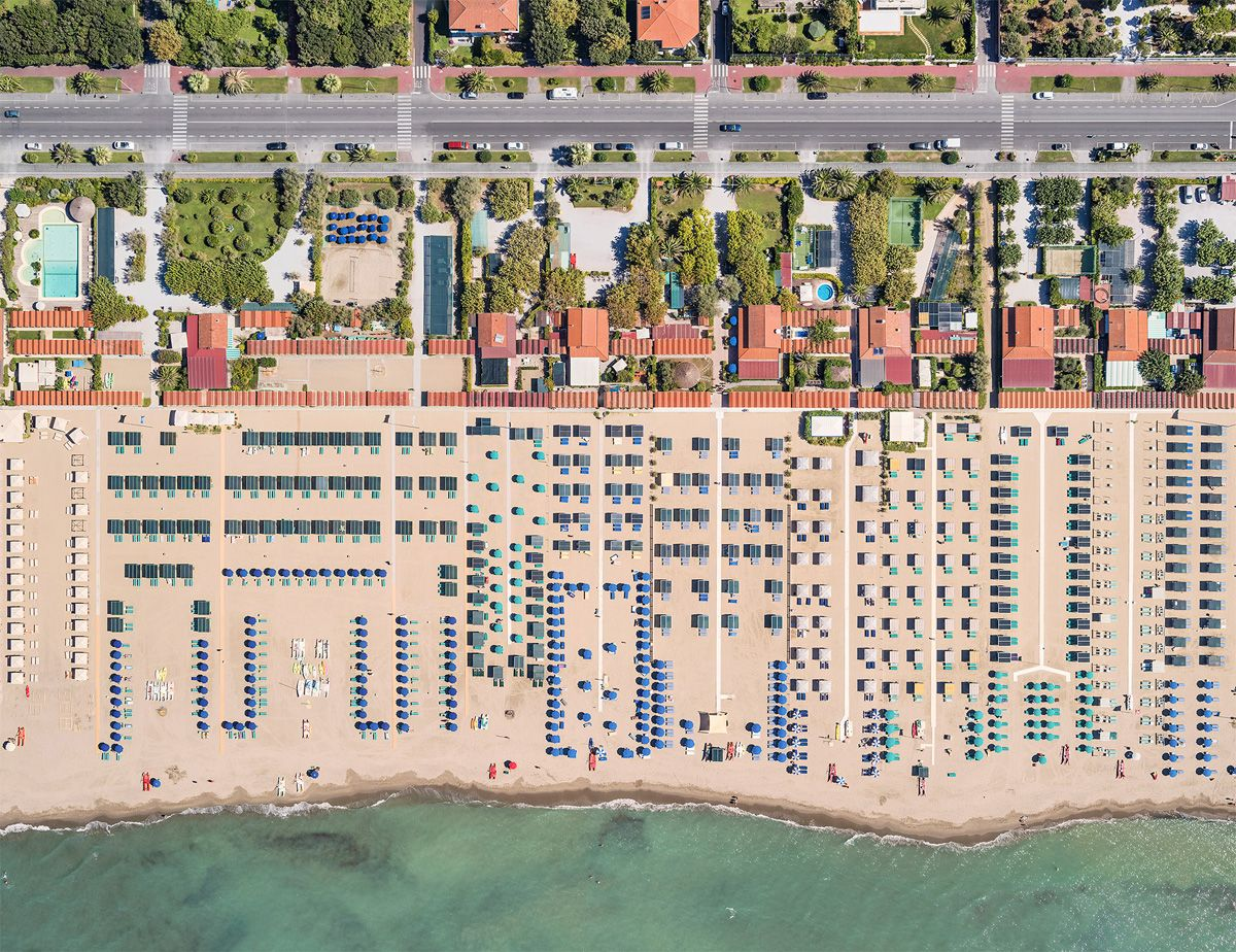 Aerial Views, Versilia 03 ,Bernhard Lang,Photography