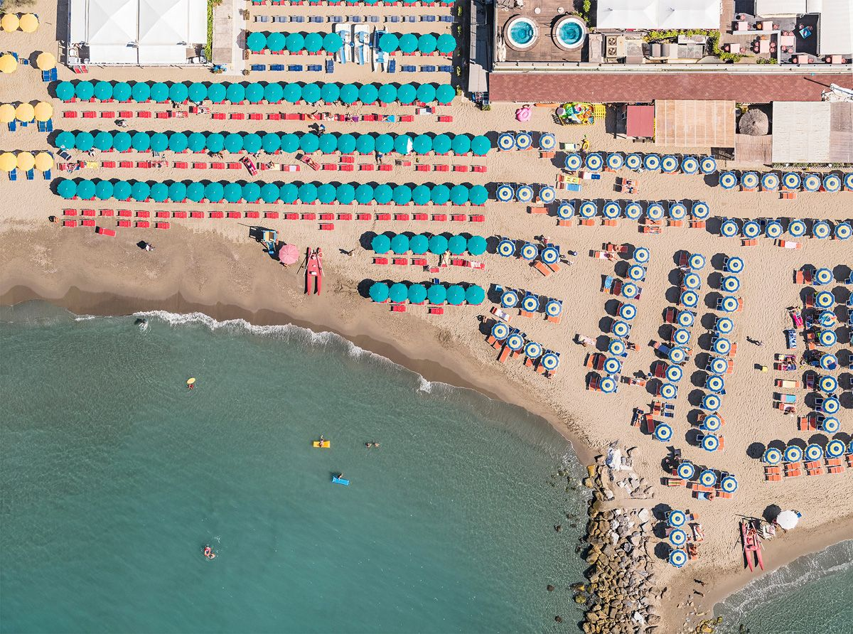 Aerial Views, Versilia 07,Bernhard Lang,Photography