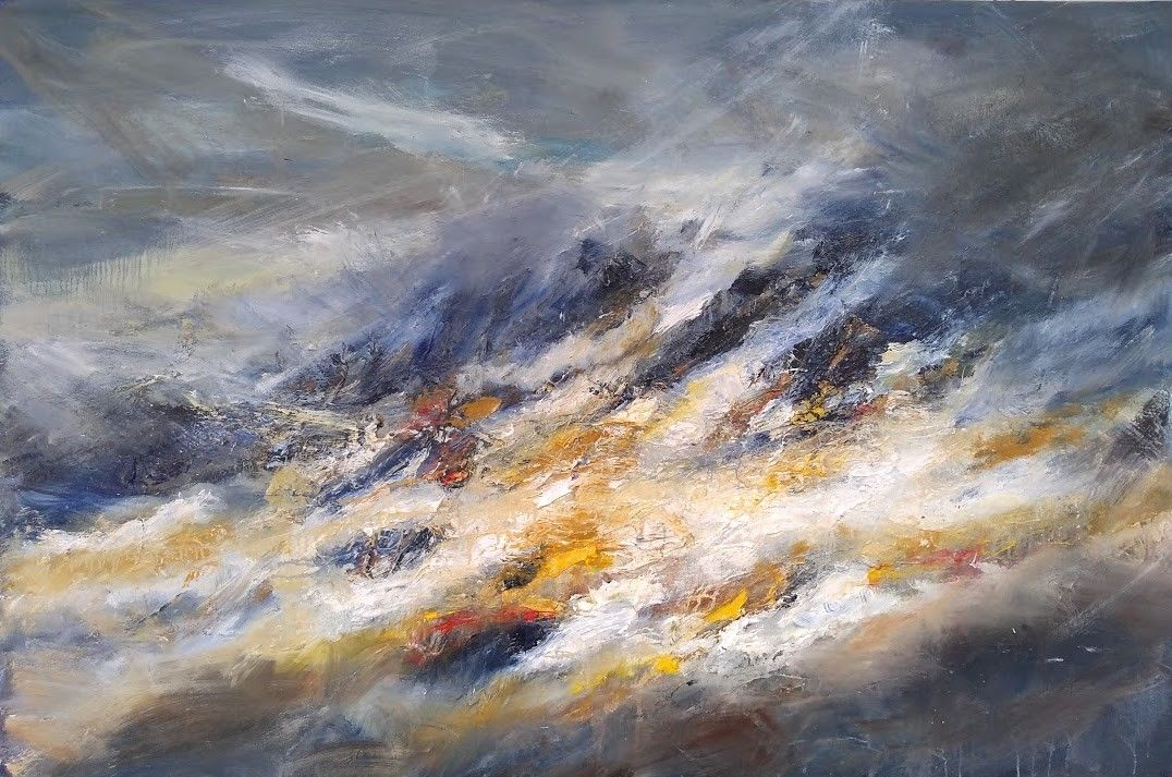 Anteallach Illumination 2 ,Jonathan Shearer,Contemporary painting