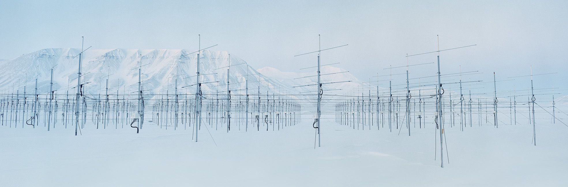 Antennaforest 2, Arctic Technology, Spitsbergen