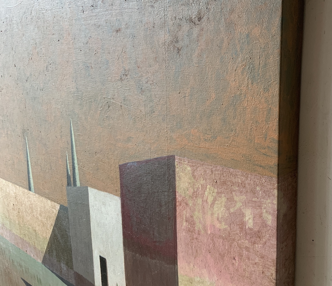 Contemporary painting - Ramon Enrich - ARCA 6 - detail 2