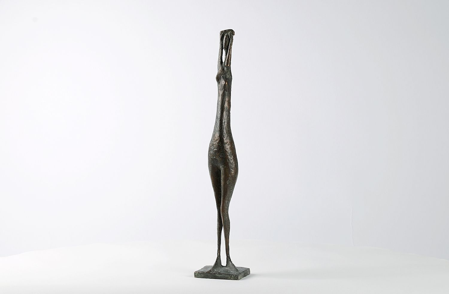 Arms Raised Standing Figure VI