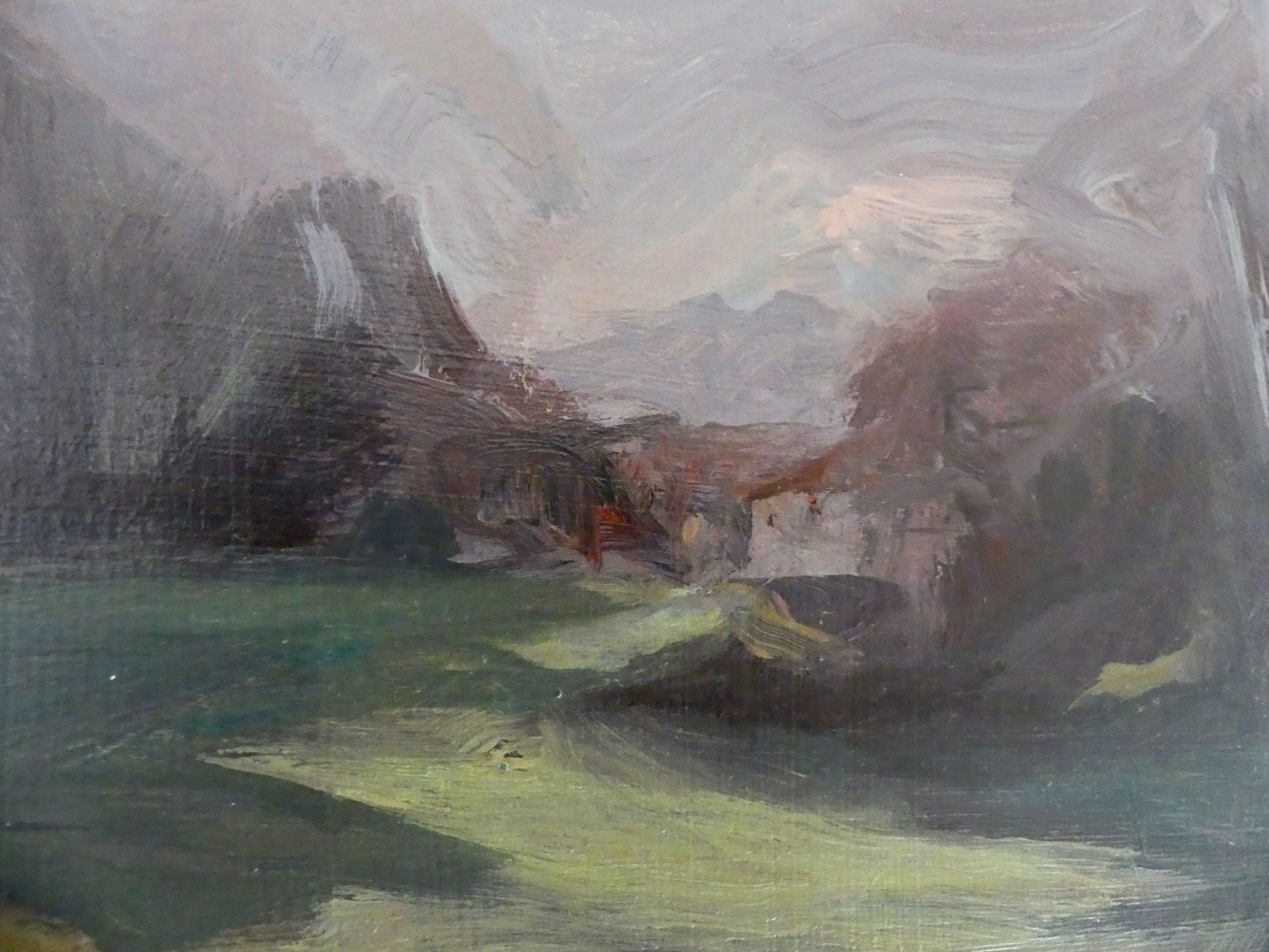 Into the woods,Valérie de Sarrieu,Contemporary painting, detail 3