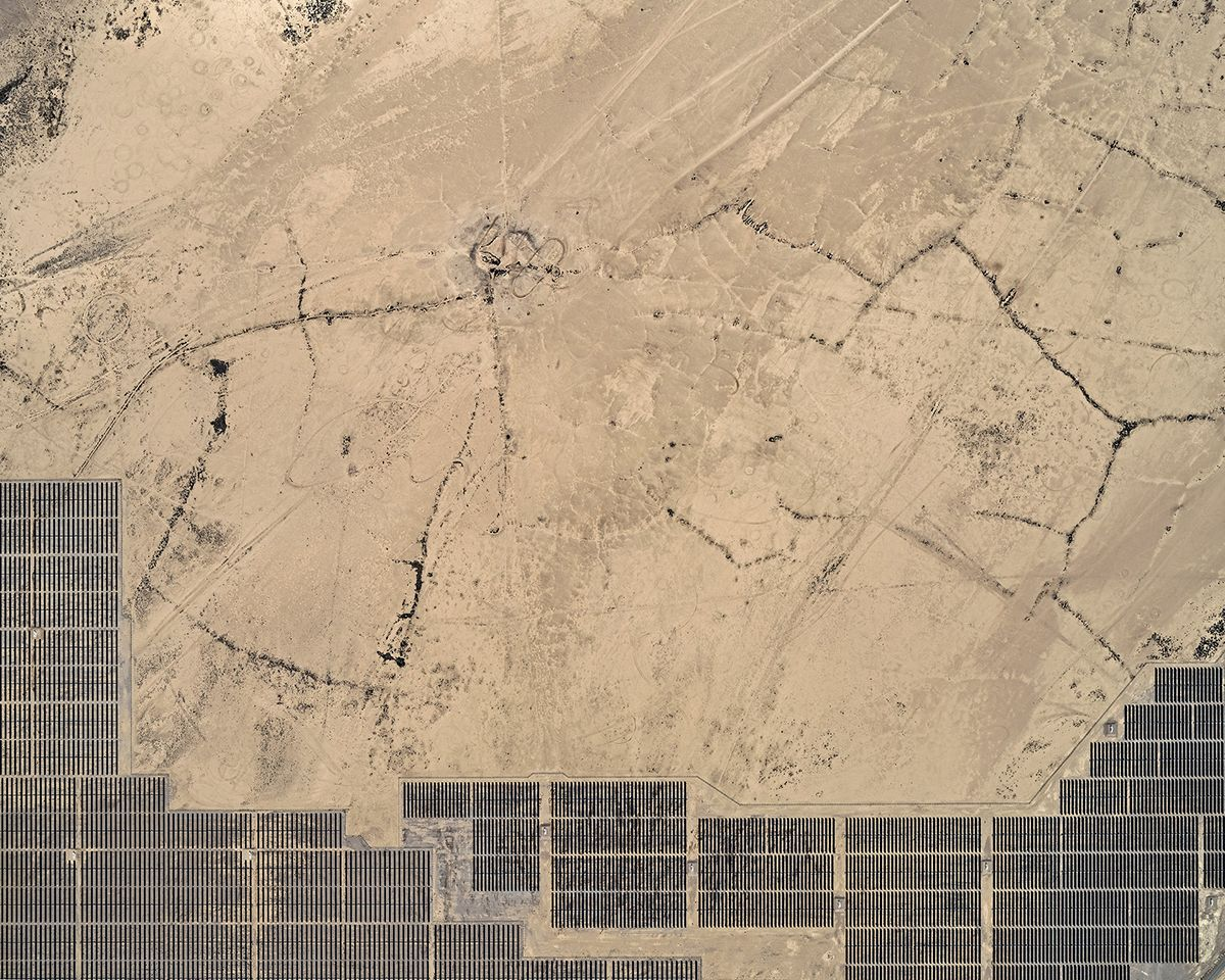 Aerial Views, Solar Plants 004,Bernhard Lang,Photographie contemporaine