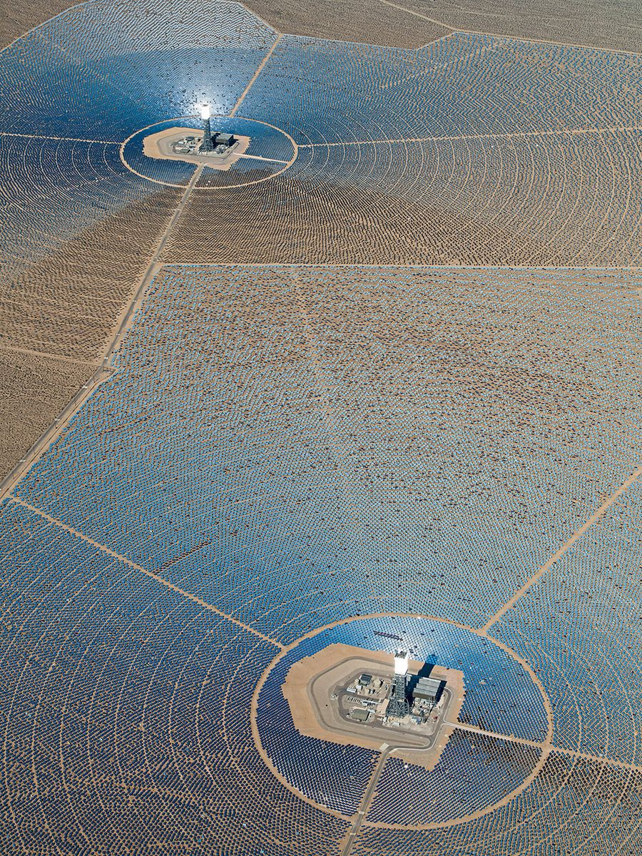 Aerial Views, Solar Plants 010,Bernhard Lang,Photographie