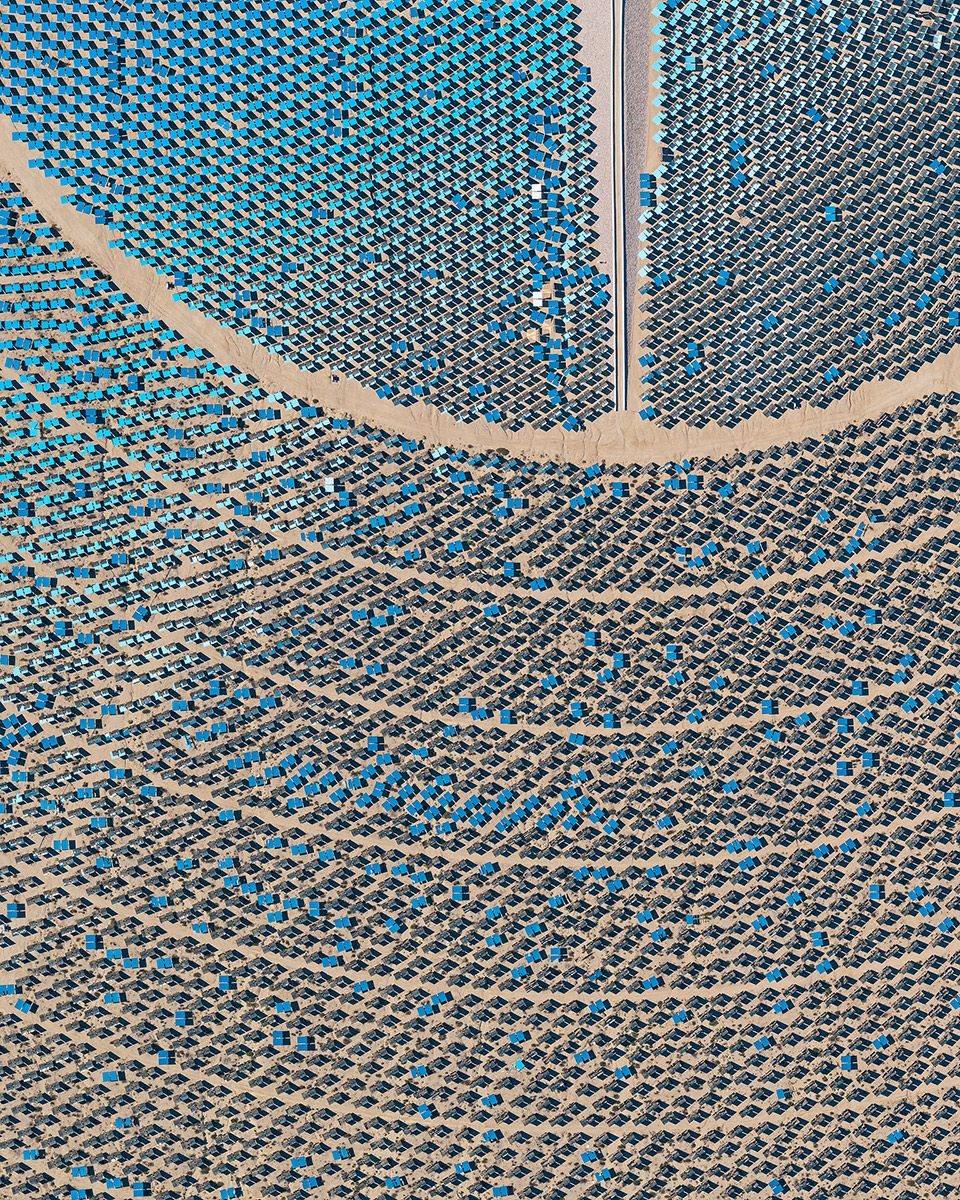 Aerial Views, Solar Plants 012,Bernhard Lang,Photography