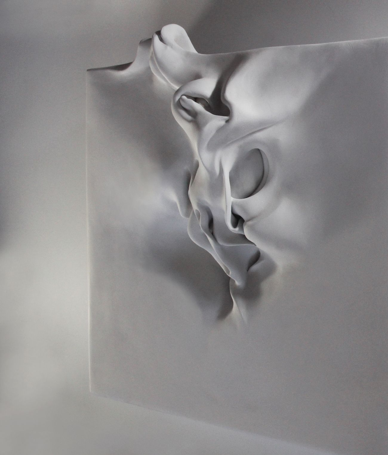 Be-Formed 3,Sharon Brill,Sculpture contemporaine, detail 2