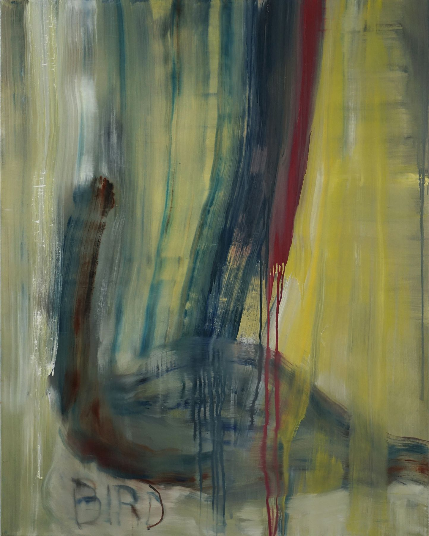 Bird (Norgous Bey's series) - Guy Oberson - Contemporary painting
