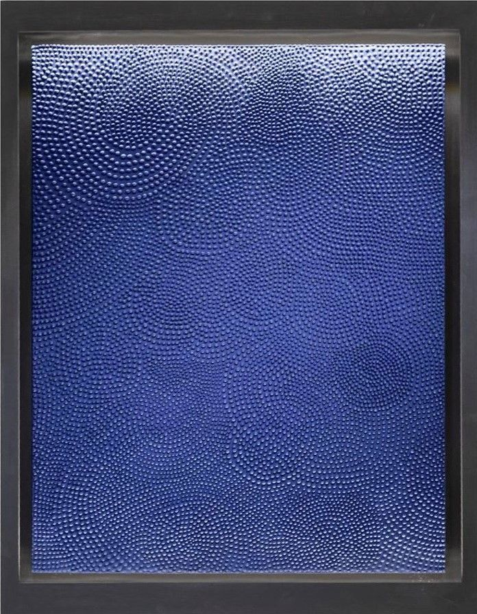 Prussian Blue,Jane Puylagarde,Contemporary painting