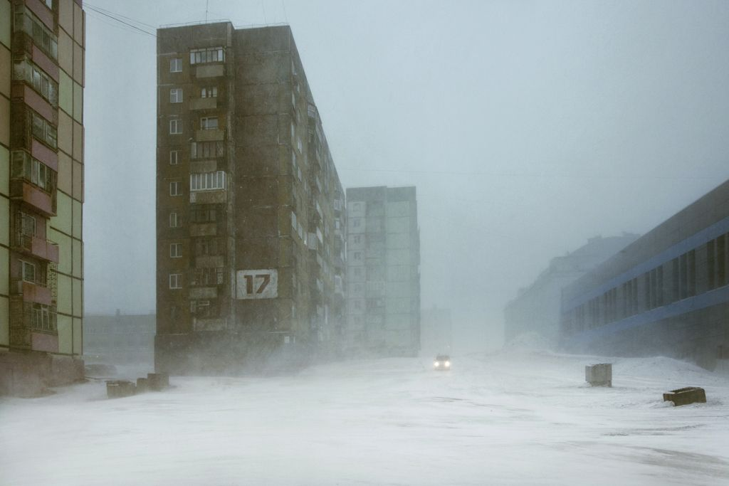 Block 17, Norilsk,Christophe Jacrot,Photography