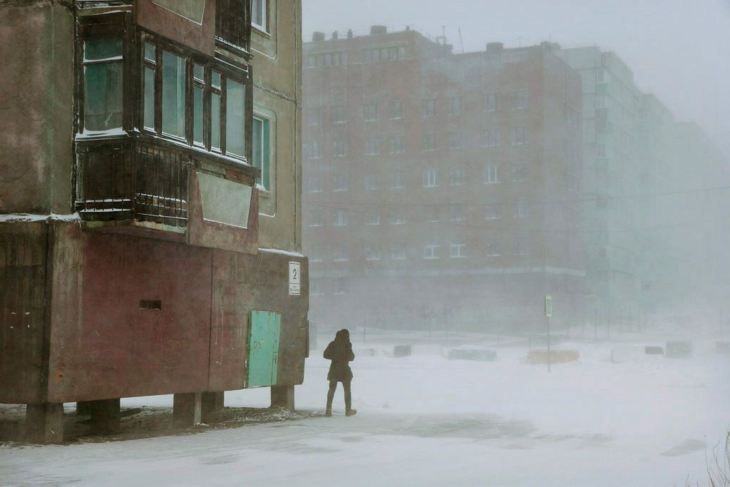 Block 2, Norilsk,Christophe Jacrot,Photography