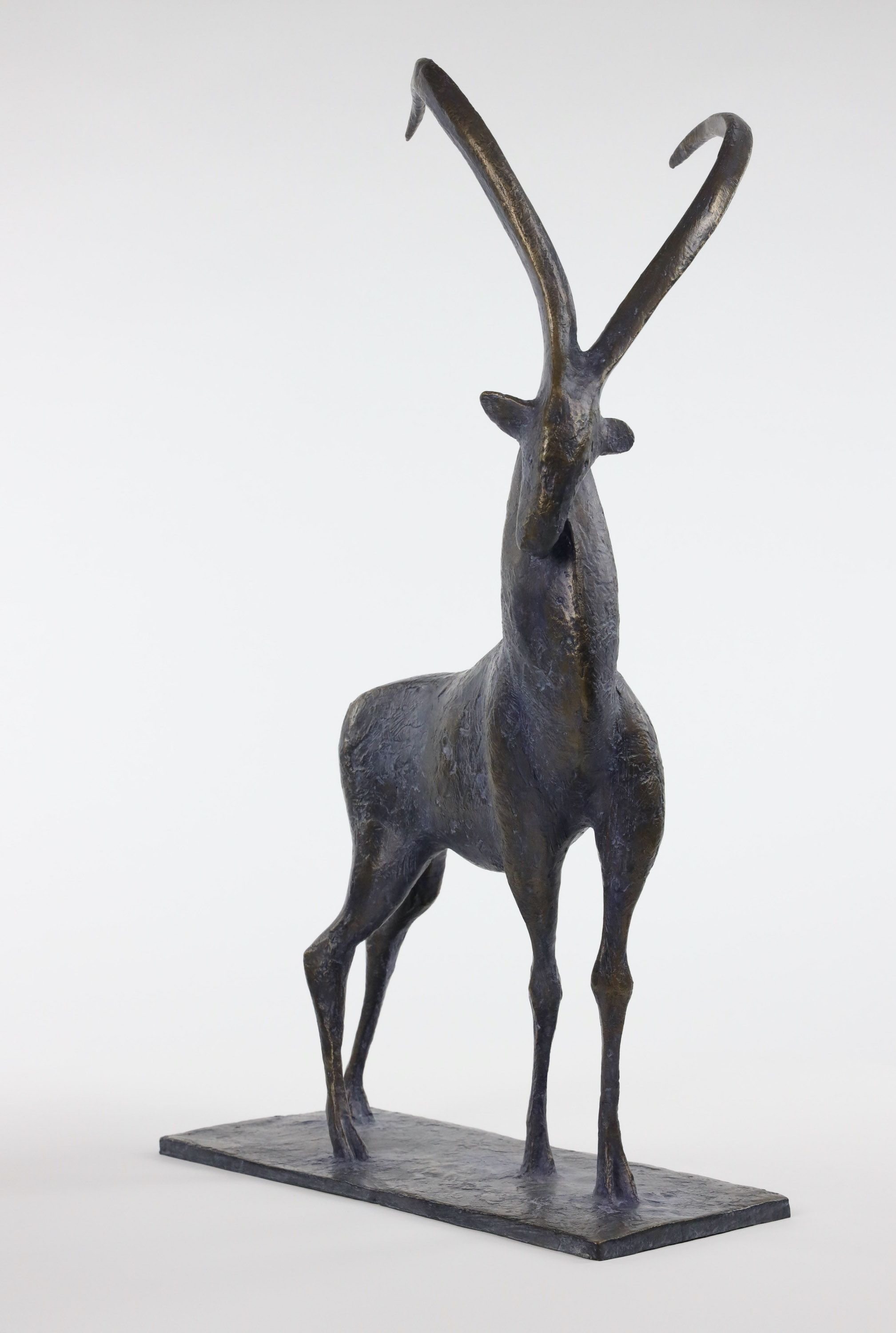 Ibex,Pierre Yermia,Sculpture, detail 1