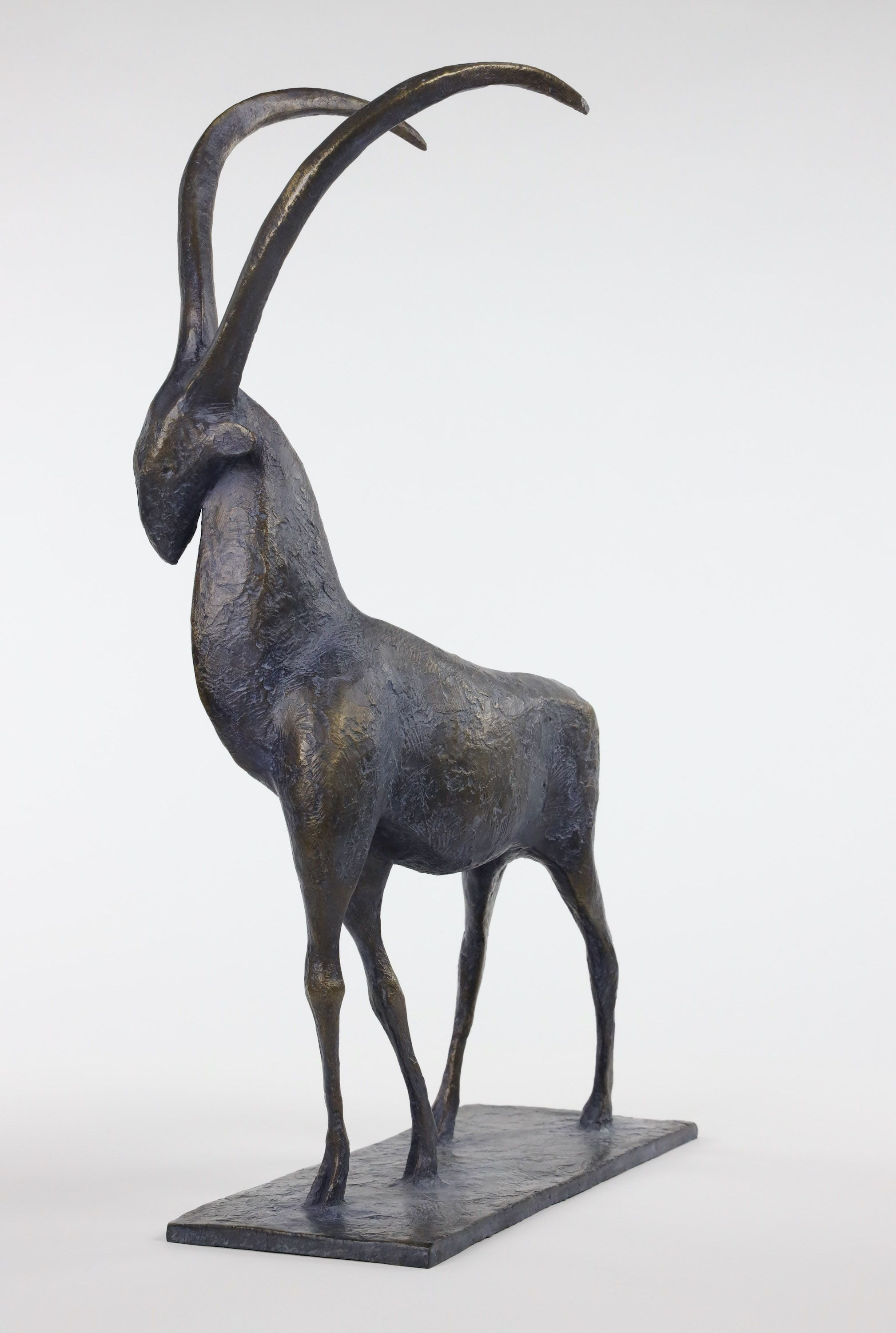 Ibex,Pierre Yermia,Sculpture, detail 3