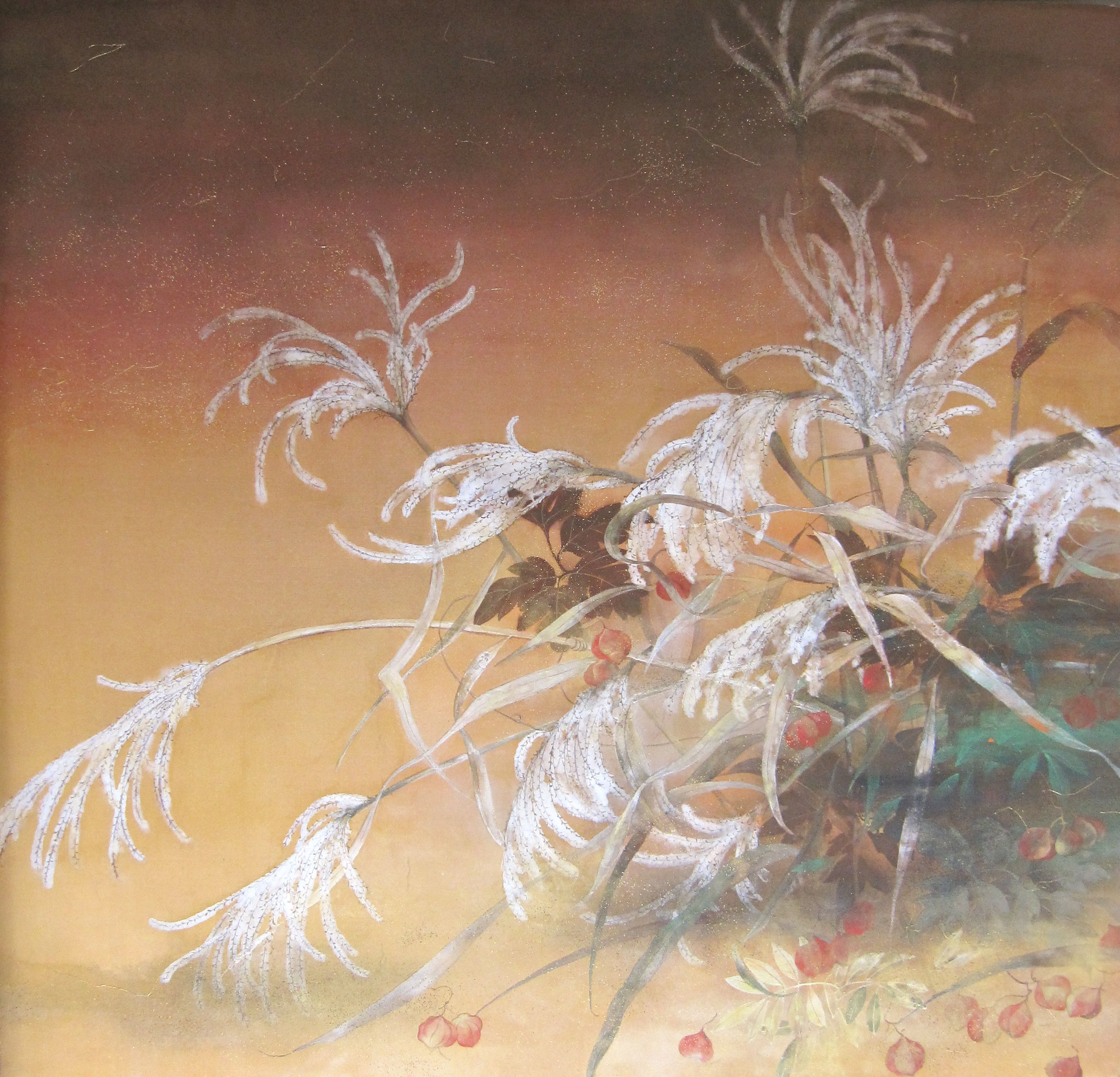 Brise d'automne,Chen Yiching,Painting