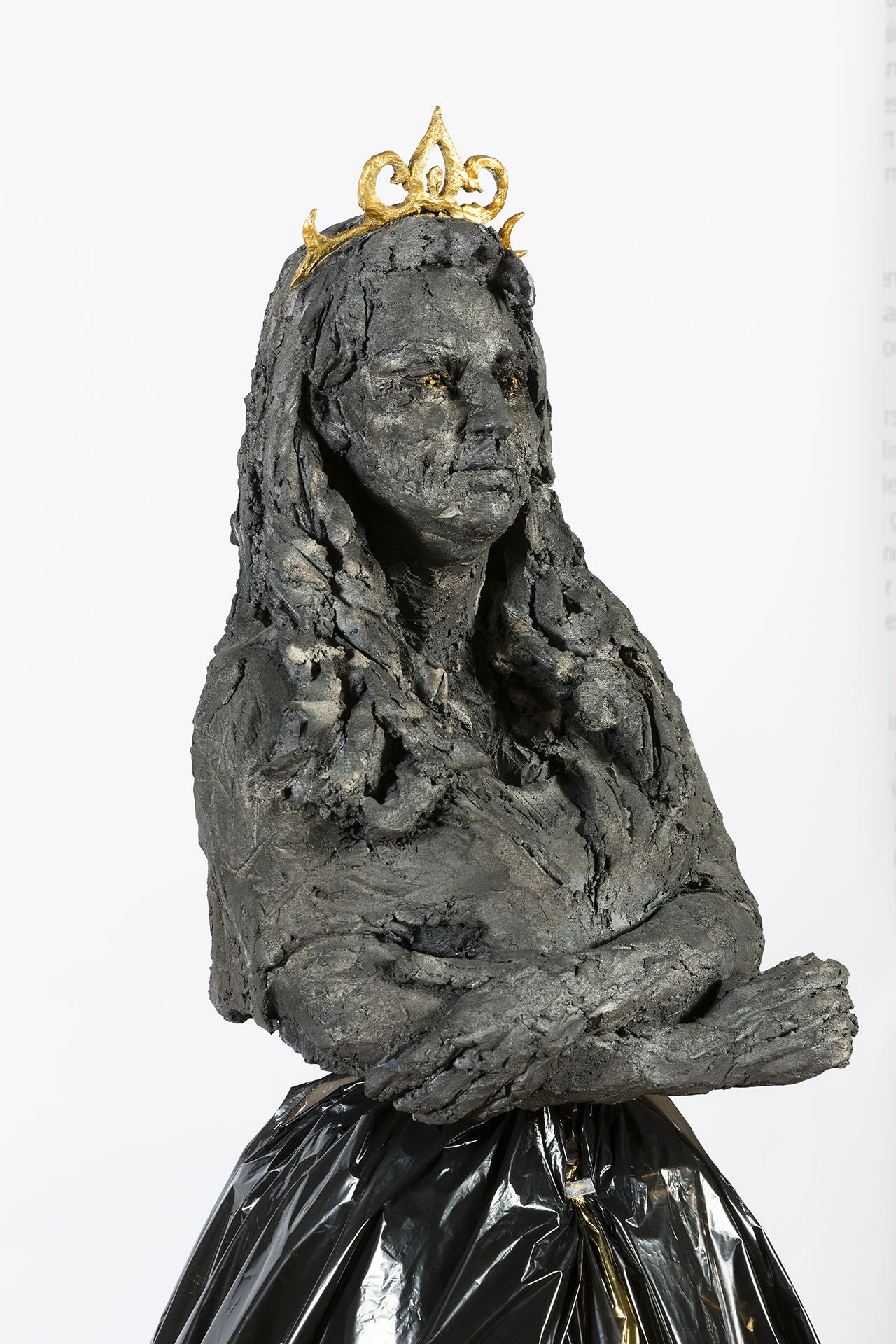 Princesse Sara,Cécile Raynal,Sculpture contemporaine, detail 2