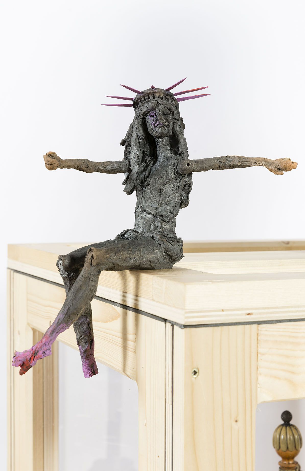 Quant à Barbie,Cécile Raynal,Sculpture