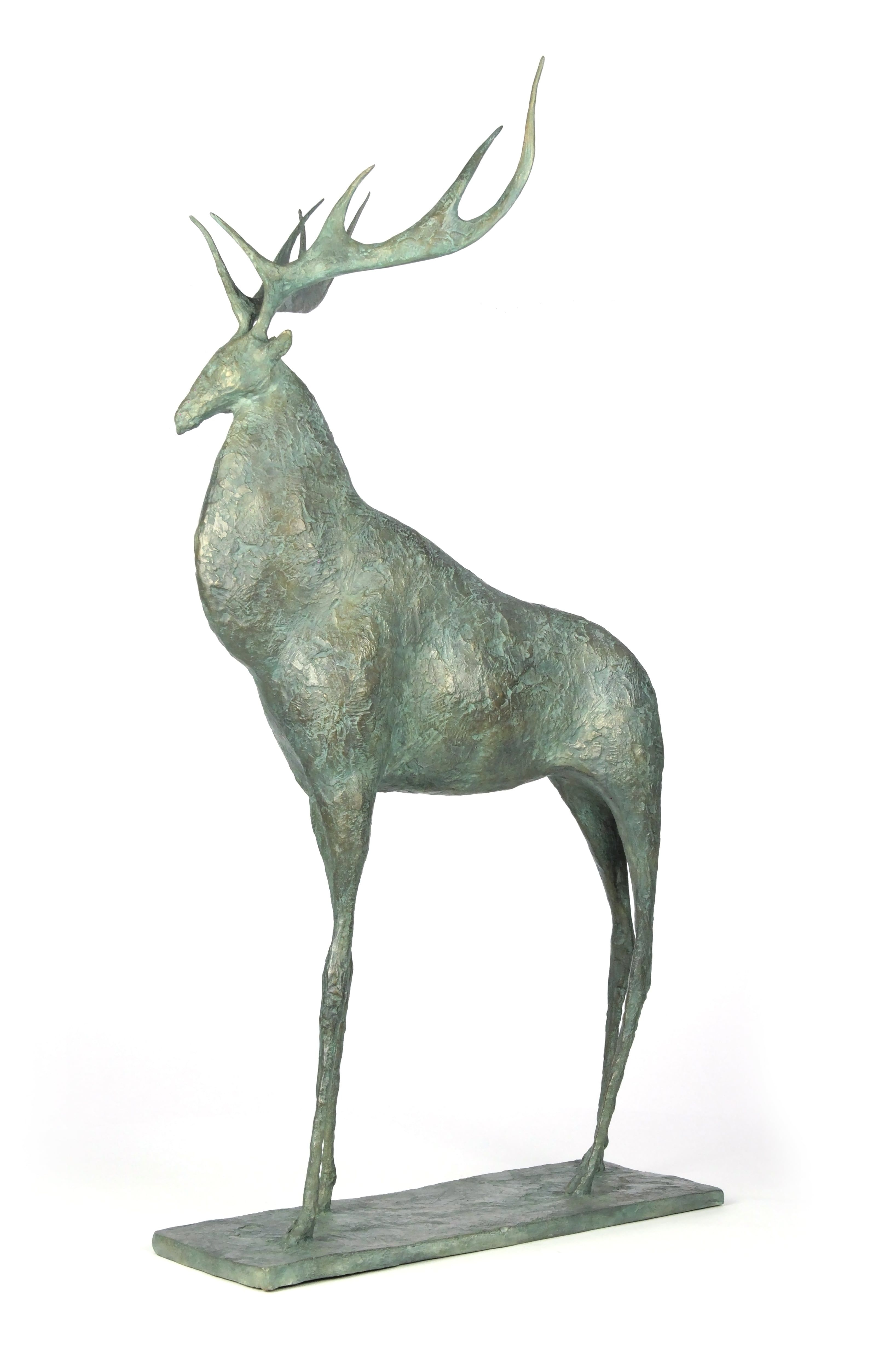 Cerf I,Pierre Yermia,Sculpture, detail 1