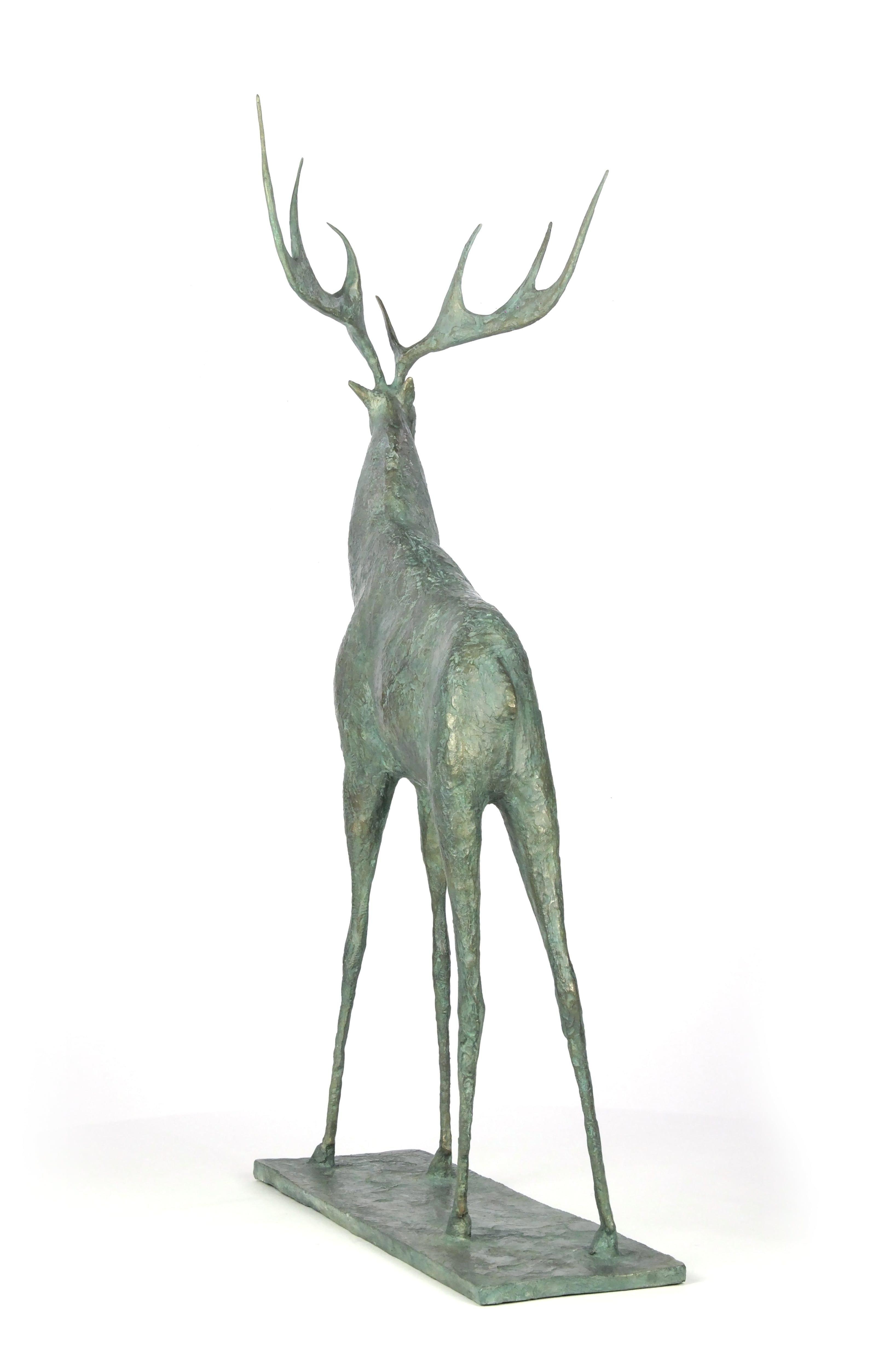 Cerf I,Pierre Yermia,Sculpture, detail 3