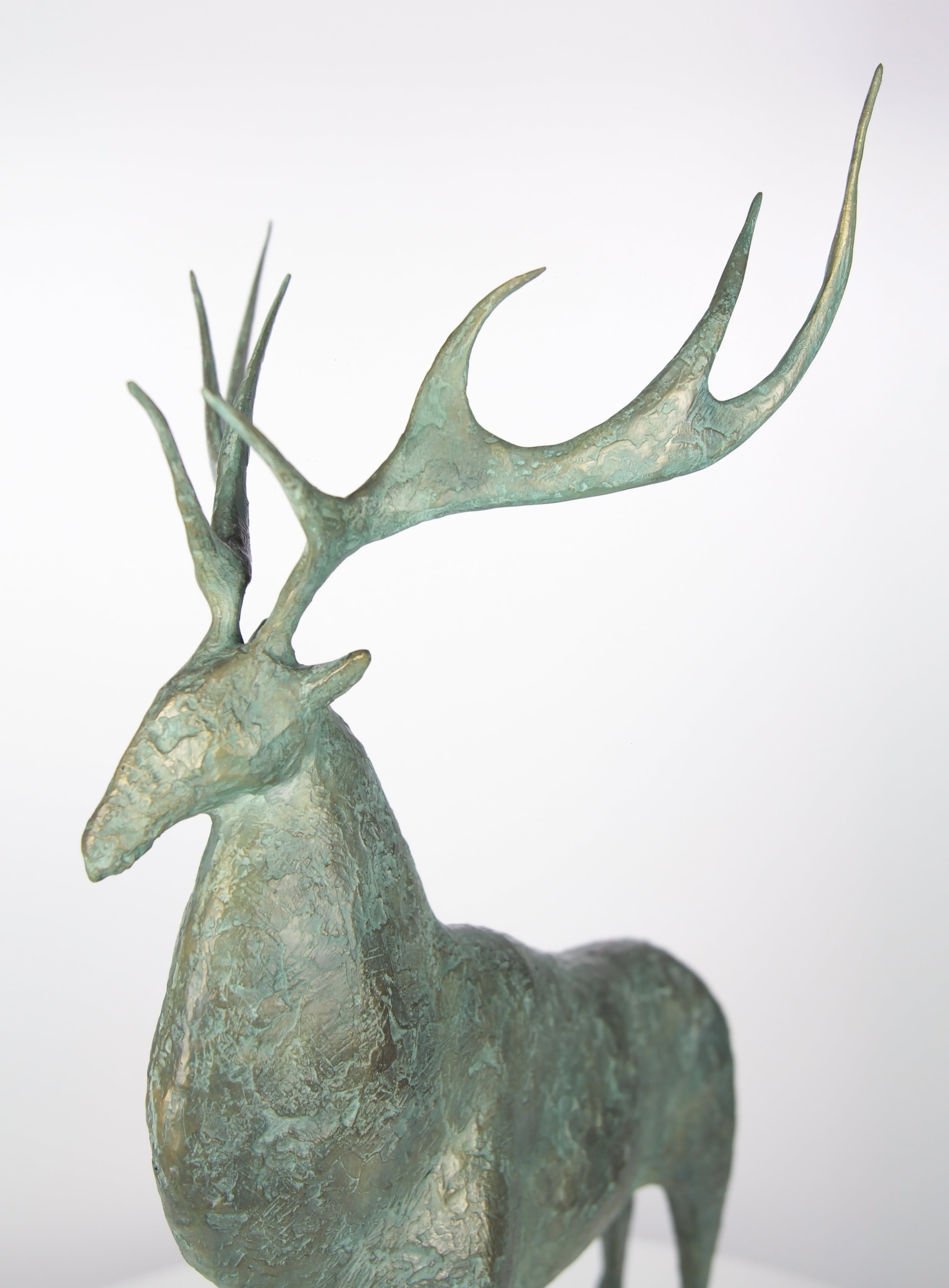 Cerf I,Pierre Yermia,Sculpture, detail 4