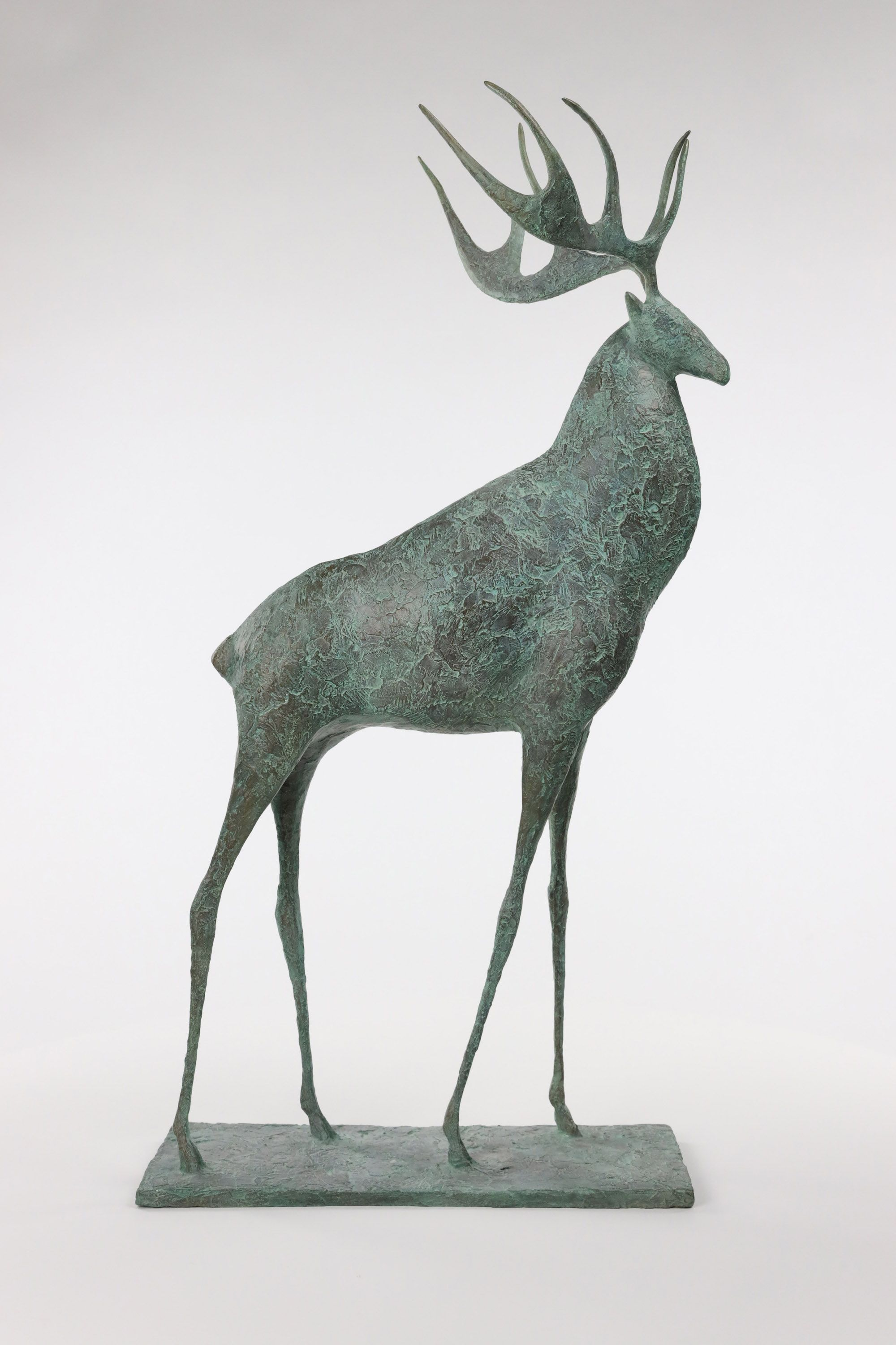 Deer II,Pierre Yermia,Sculpture