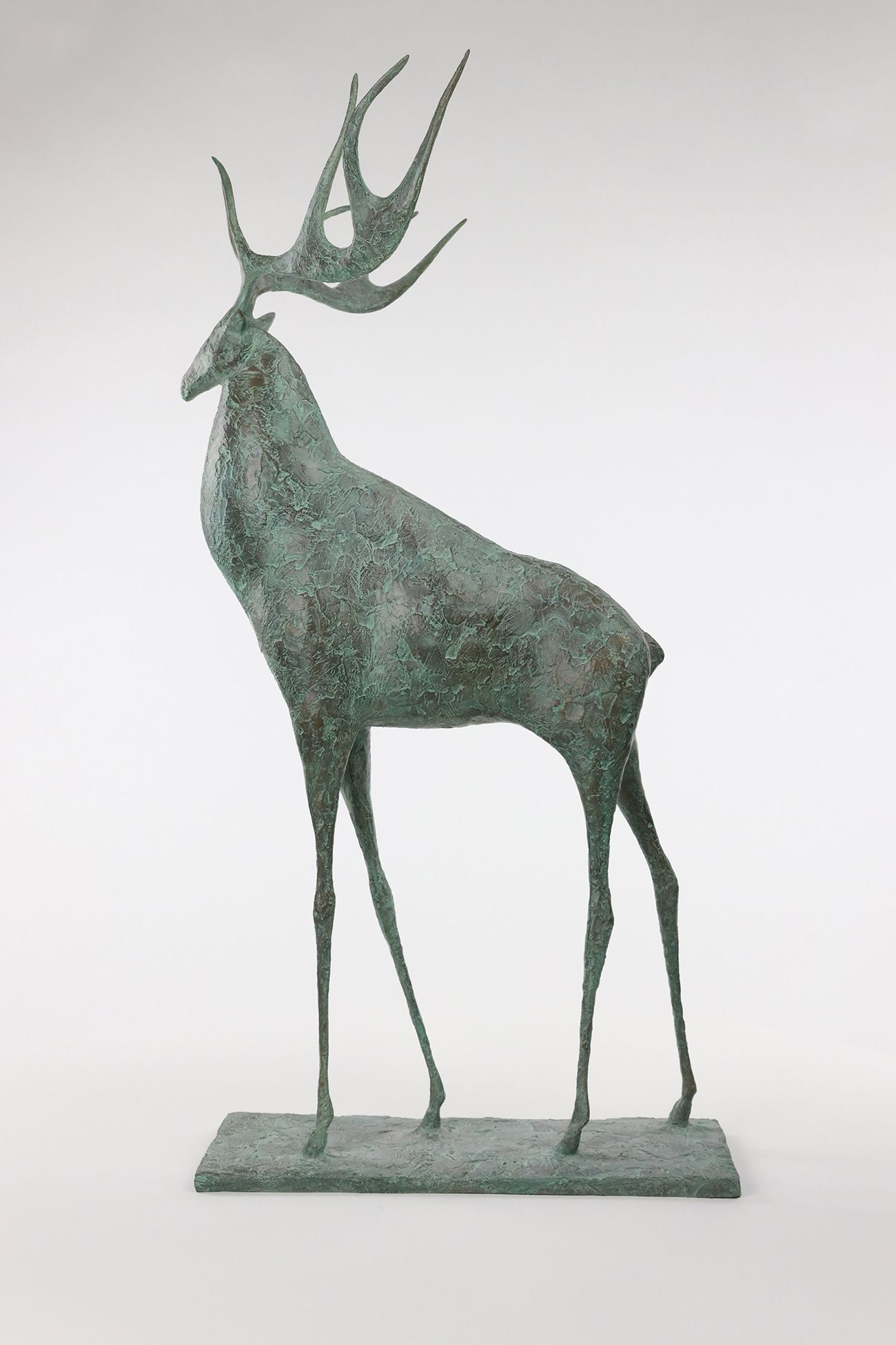 Deer II,Pierre Yermia,Sculpture, detail 4