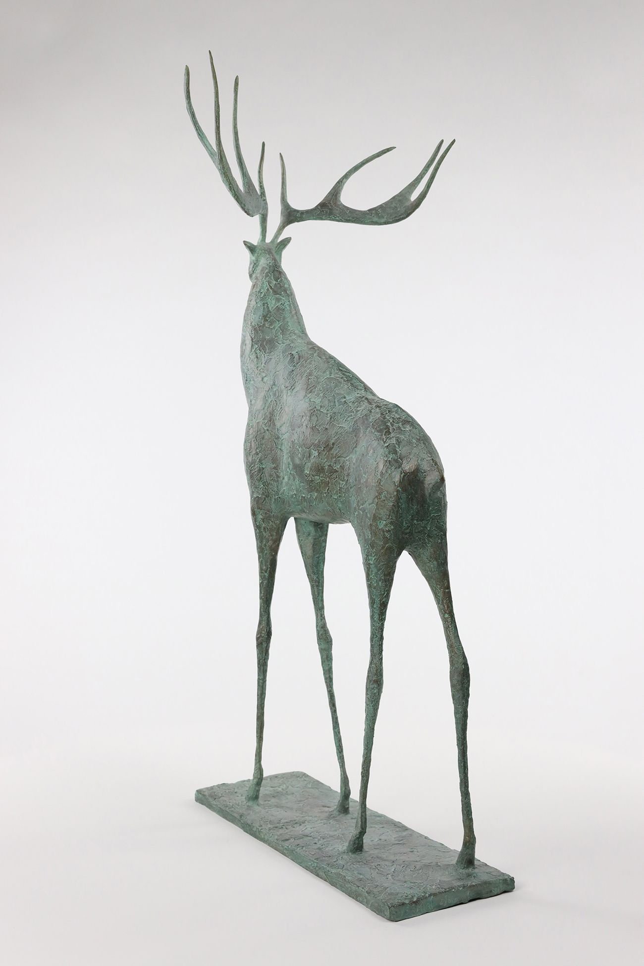 Deer II,Pierre Yermia,Sculpture, detail 3