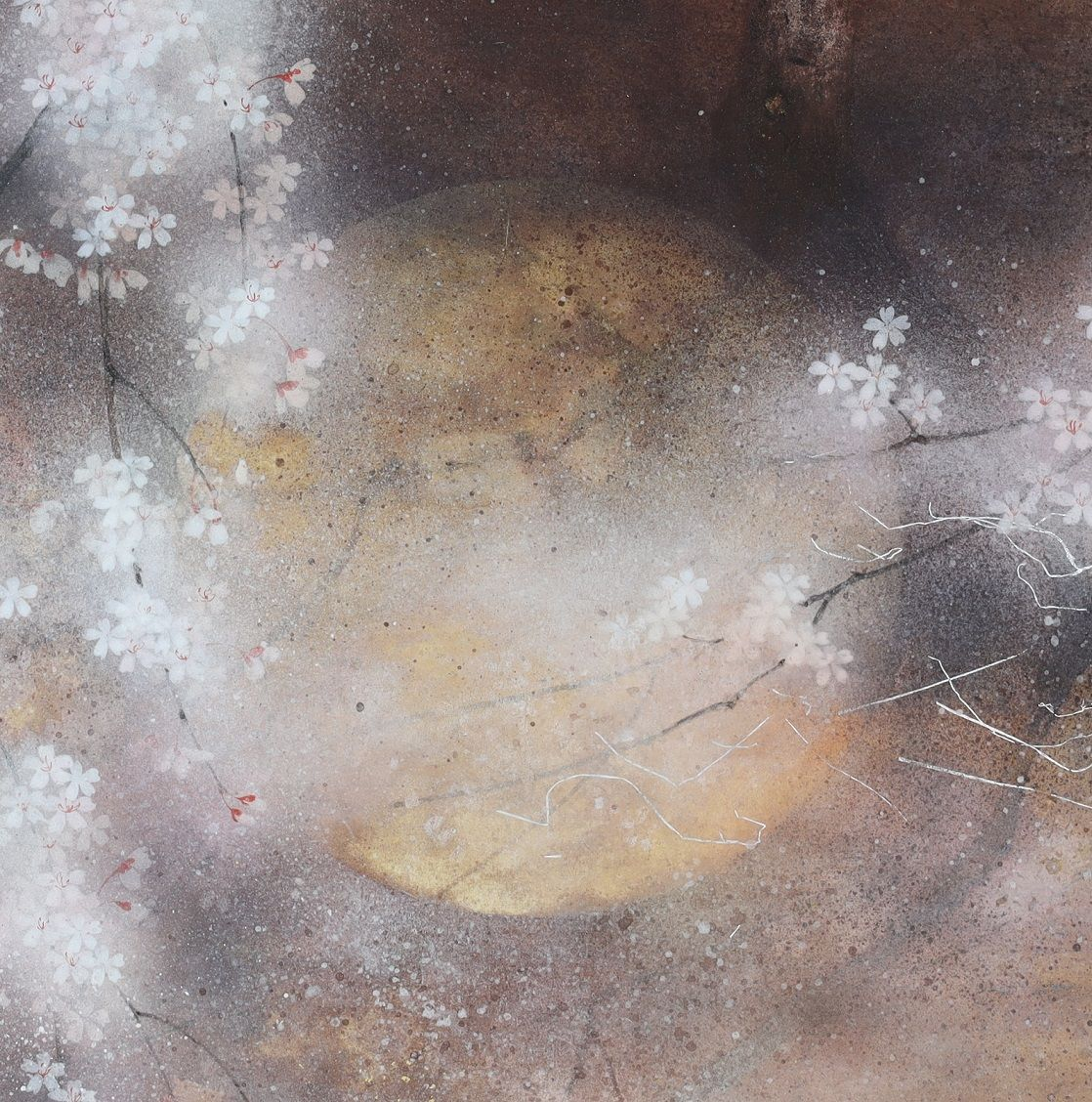 cerisier - Chen Yiching - Contemporary painting - detail 2