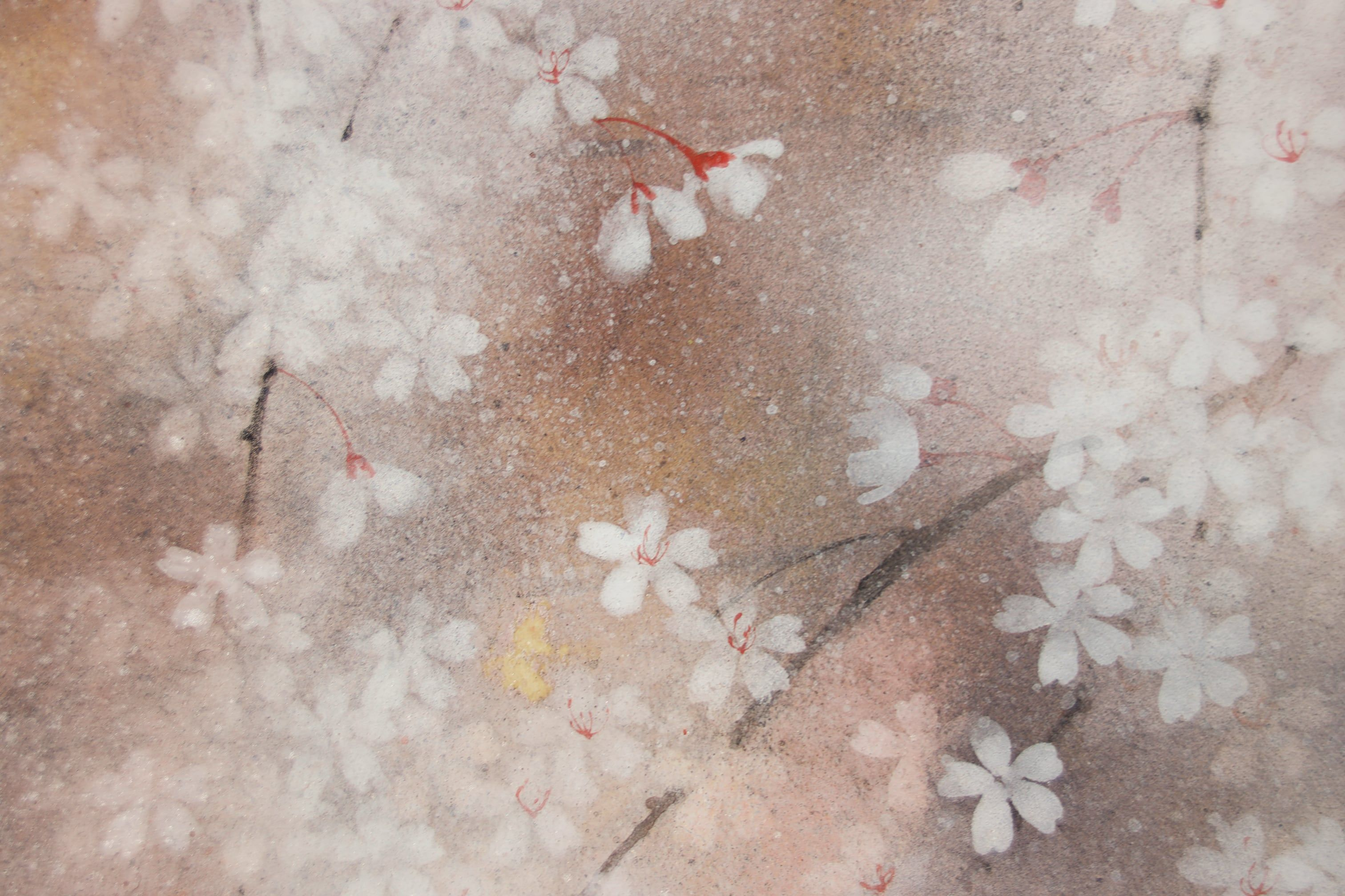 cerisier,Chen Yiching,Contemporary painting, detail 4