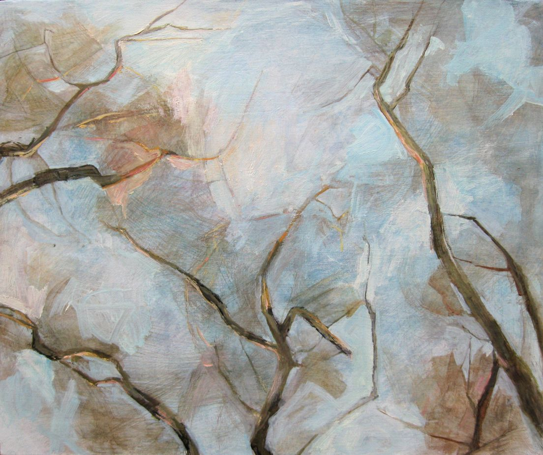 Tree Top VI,Valérie de Sarrieu,Contemporary painting