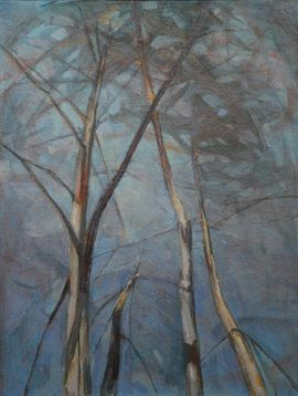 Tree Top VIII,Valérie de Sarrieu,Painting