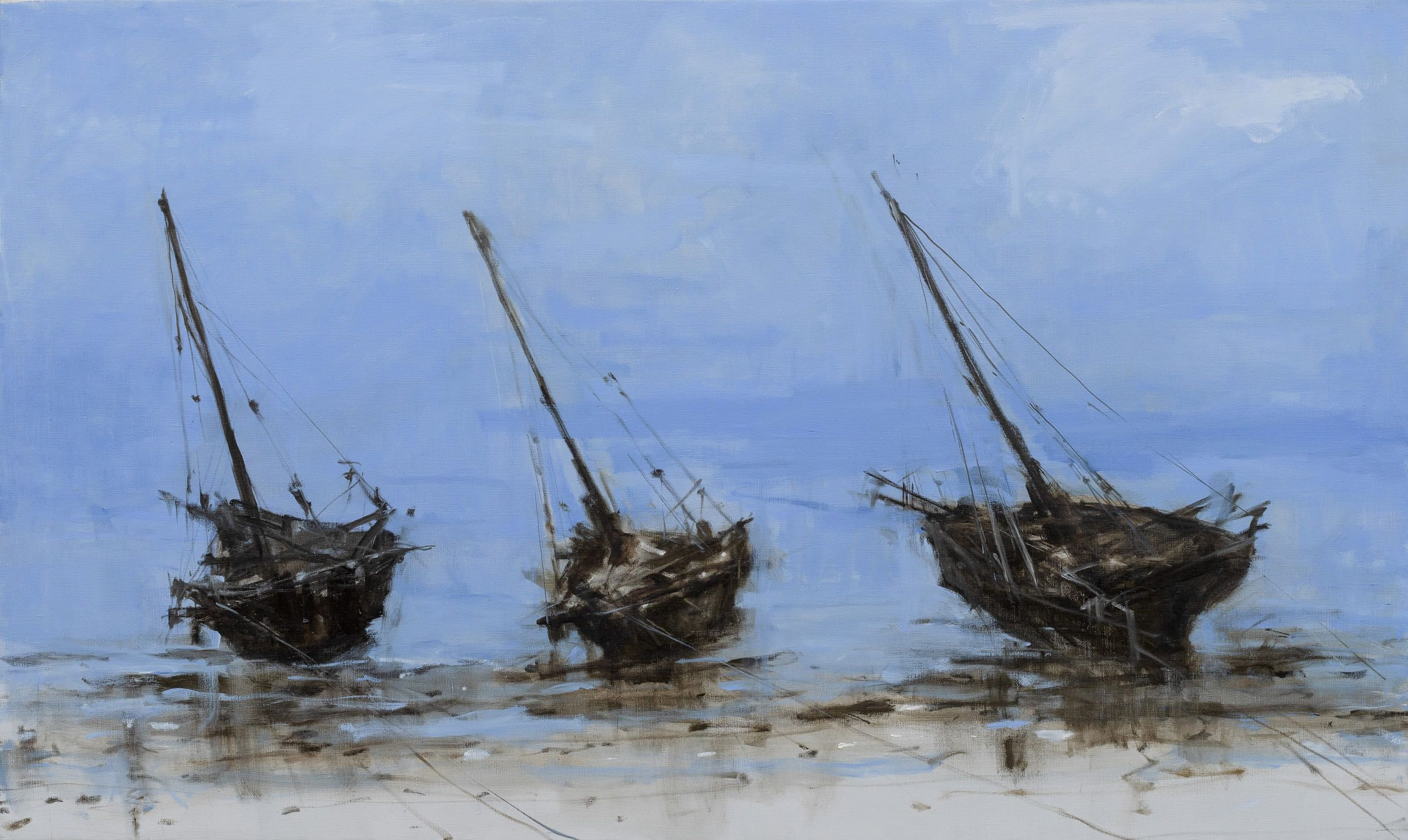 Coast of Bagamoyo n°3,Calo  Carratalá,Contemporary painting