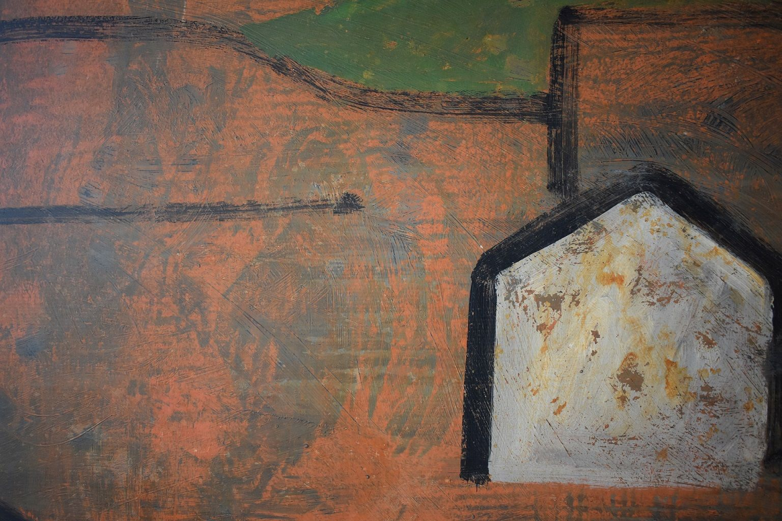 CONG II,Ramon Enrich,Contemporary painting, detail 3