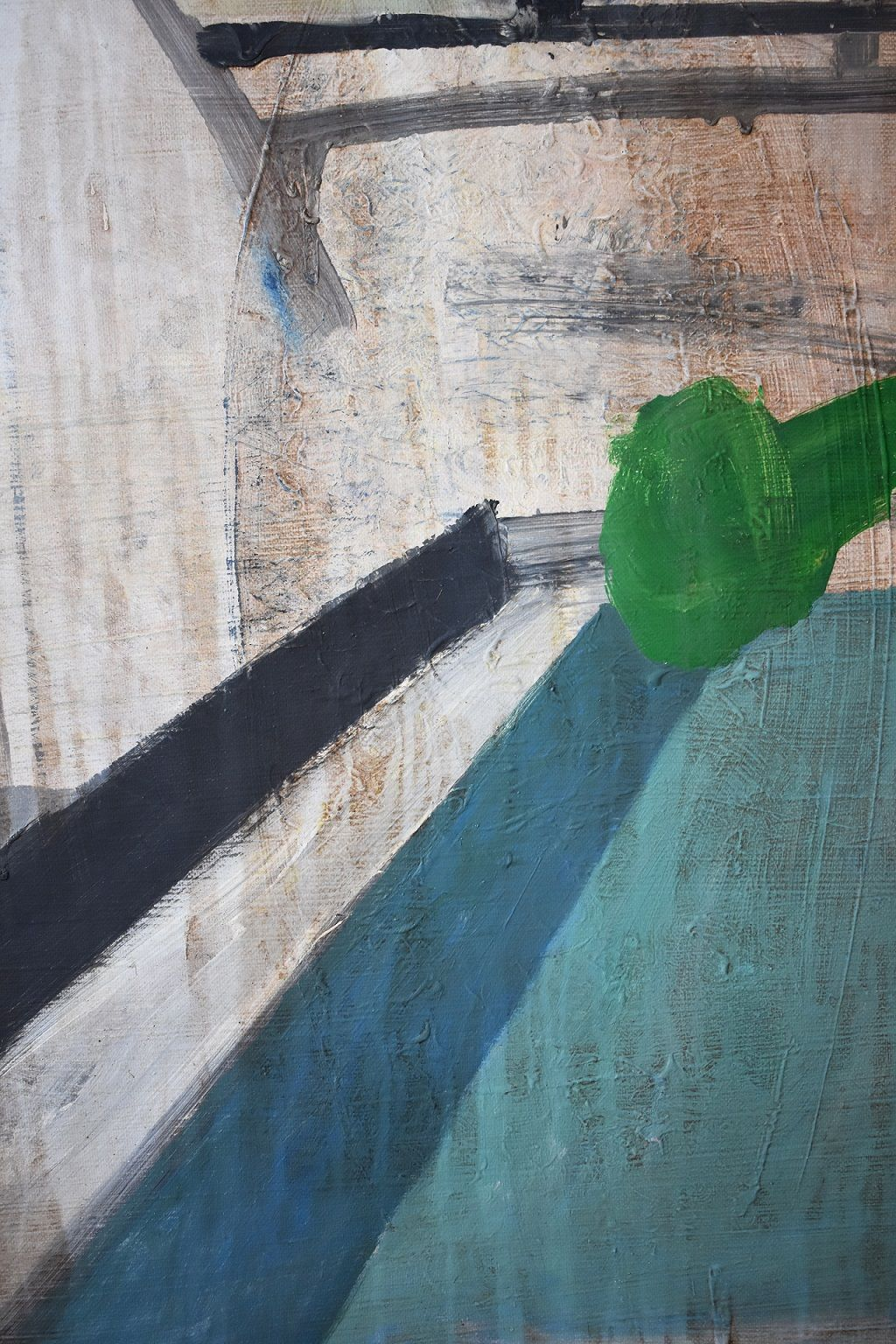 CONG I,Ramon Enrich,Painting, detail 4