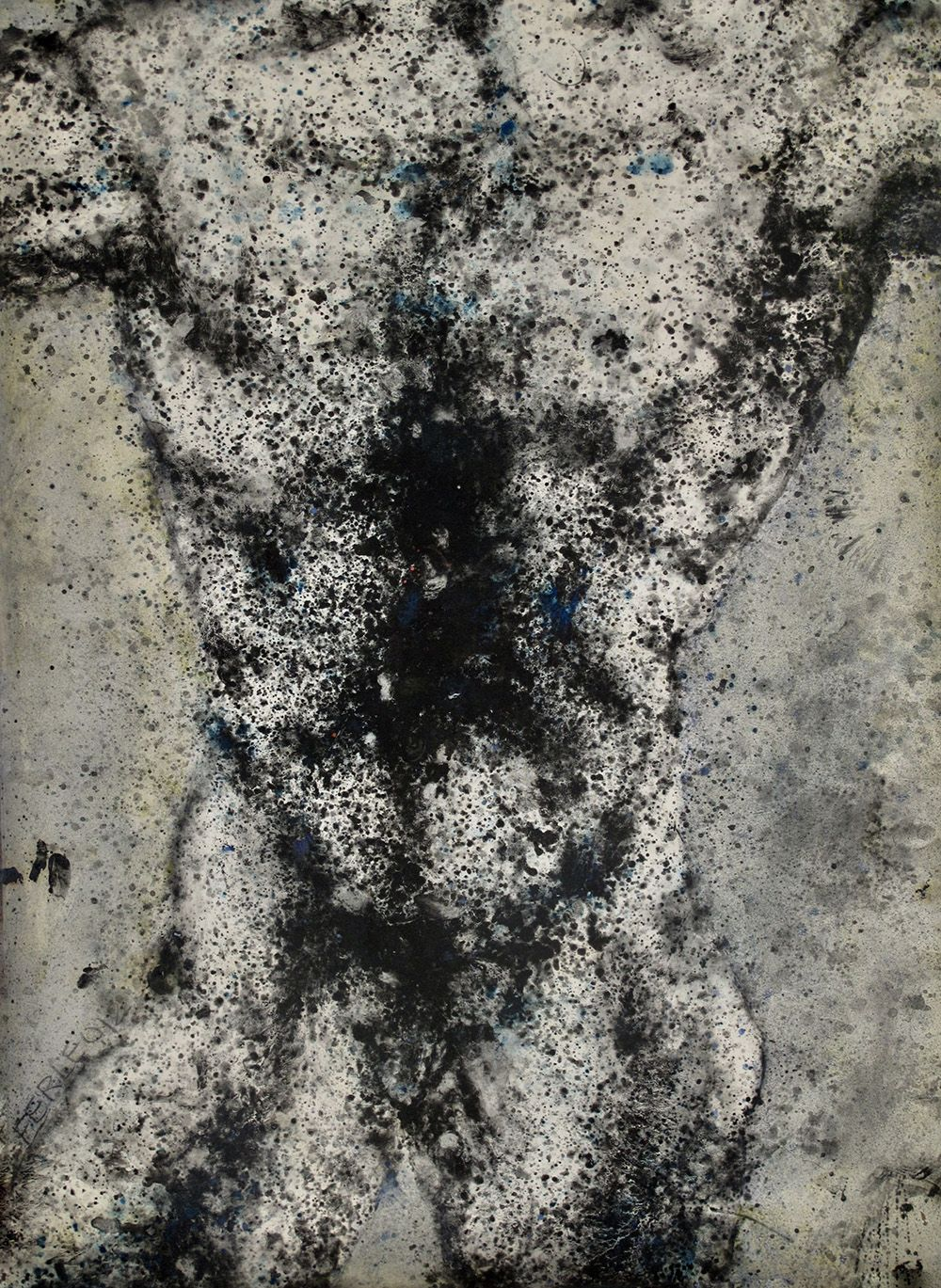 Corps/Abstrait,Elvire Ferle,Contemporary painting, detail 4