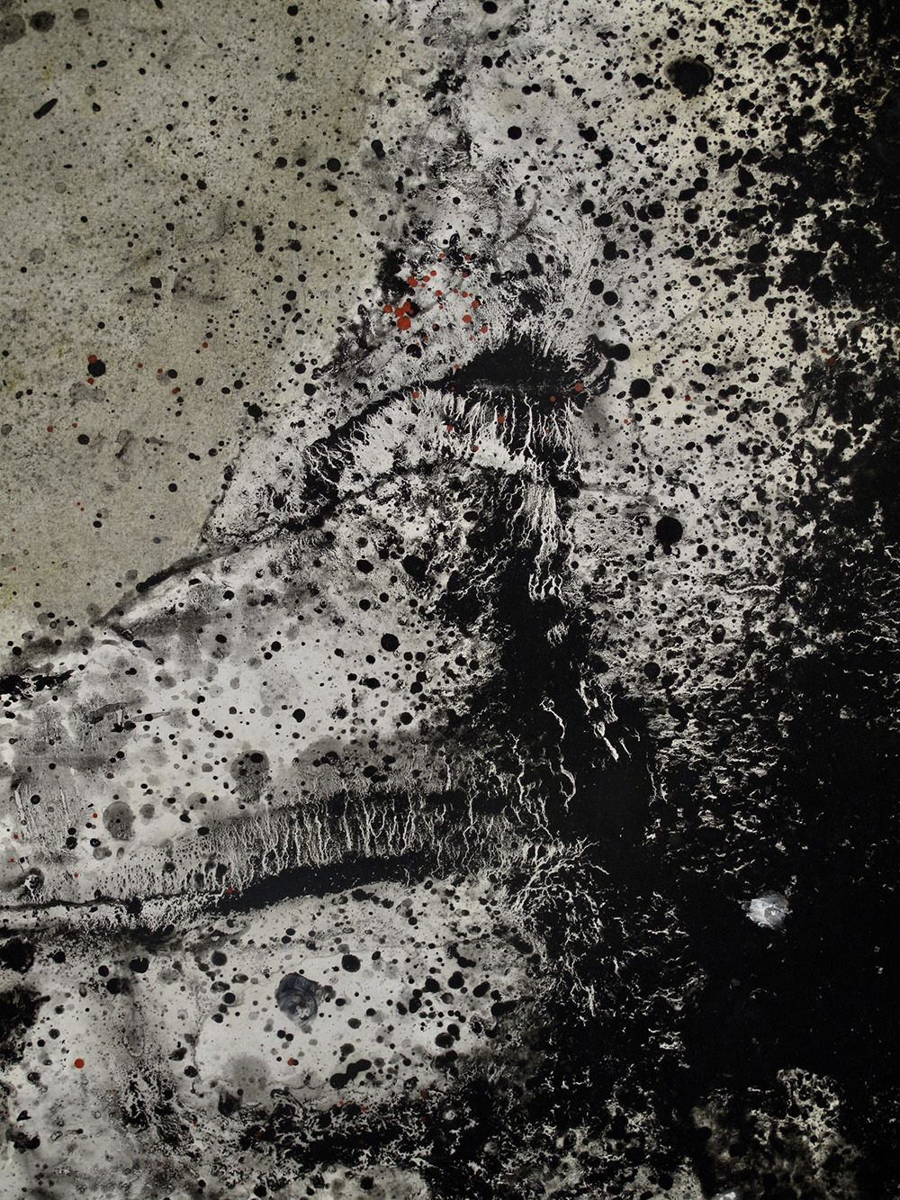 Body I,Elvire Ferle,Contemporary painting, detail 2