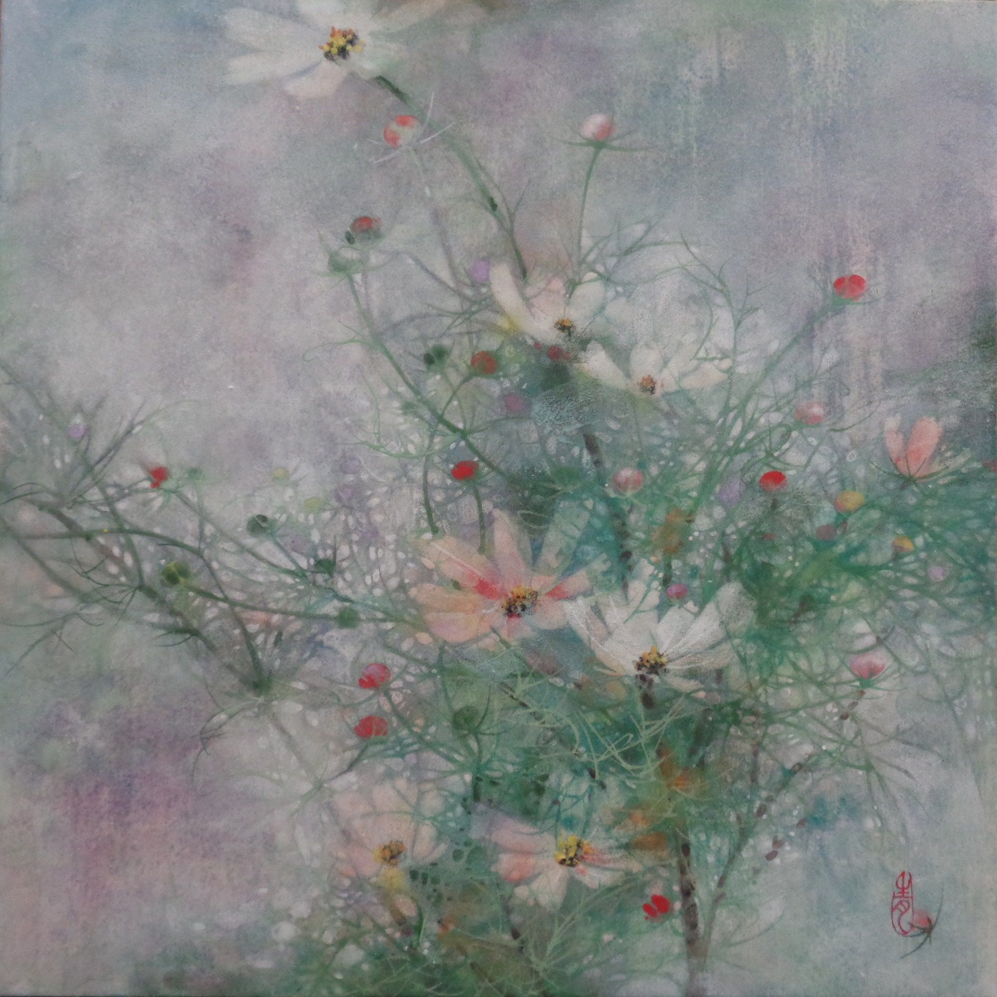 Cosmos III,Chen Yiching,Contemporary painting