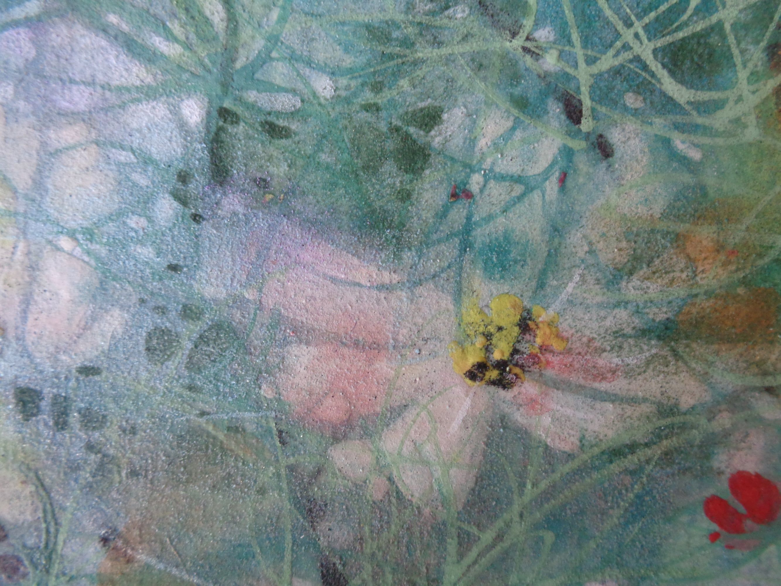 Cosmos III,Chen Yiching,Contemporary painting, detail 3