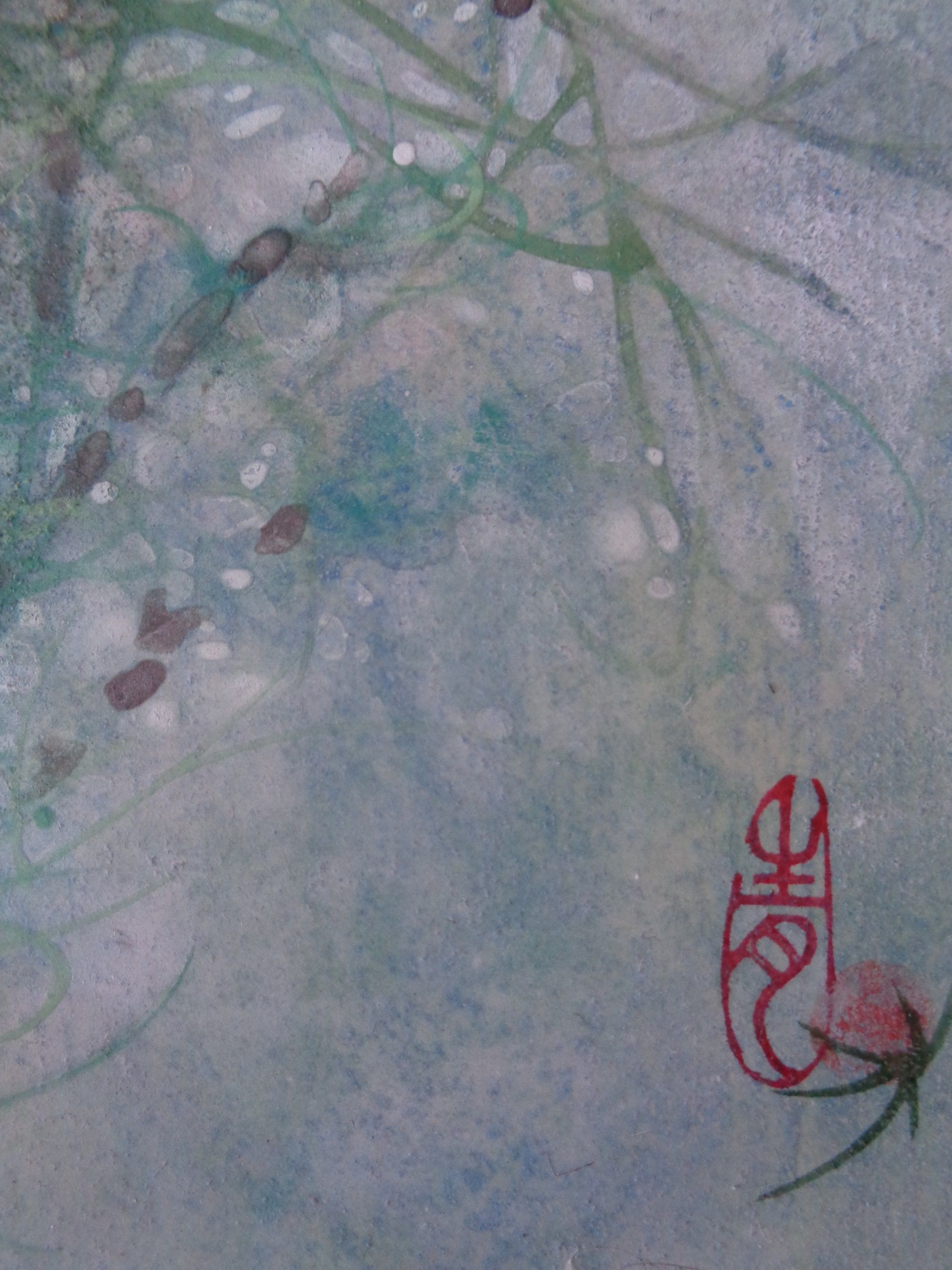 Cosmos III,Chen Yiching,Contemporary painting, detail 4