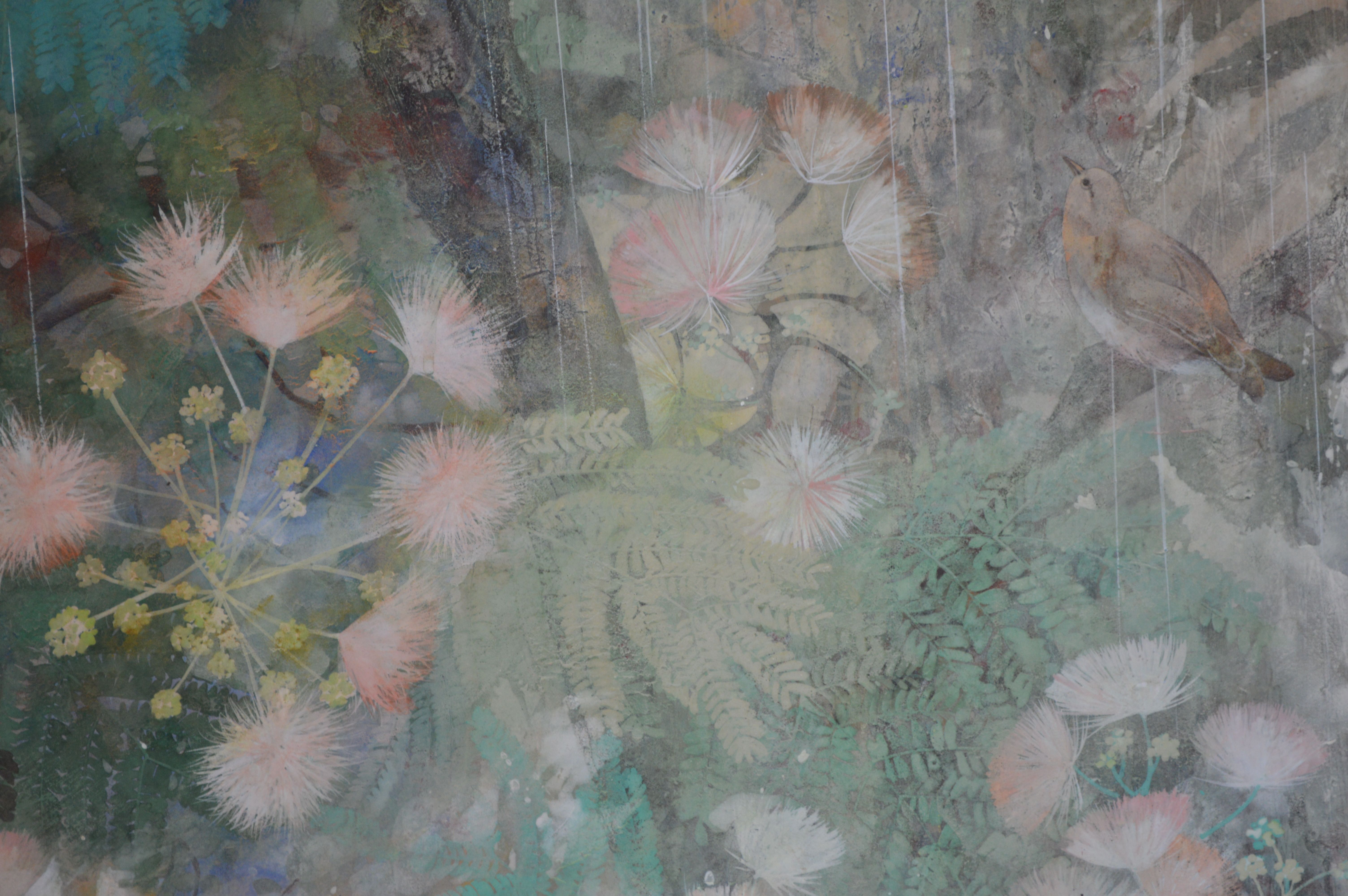 Coup de foudre,Chen Yiching,Contemporary painting, detail 2