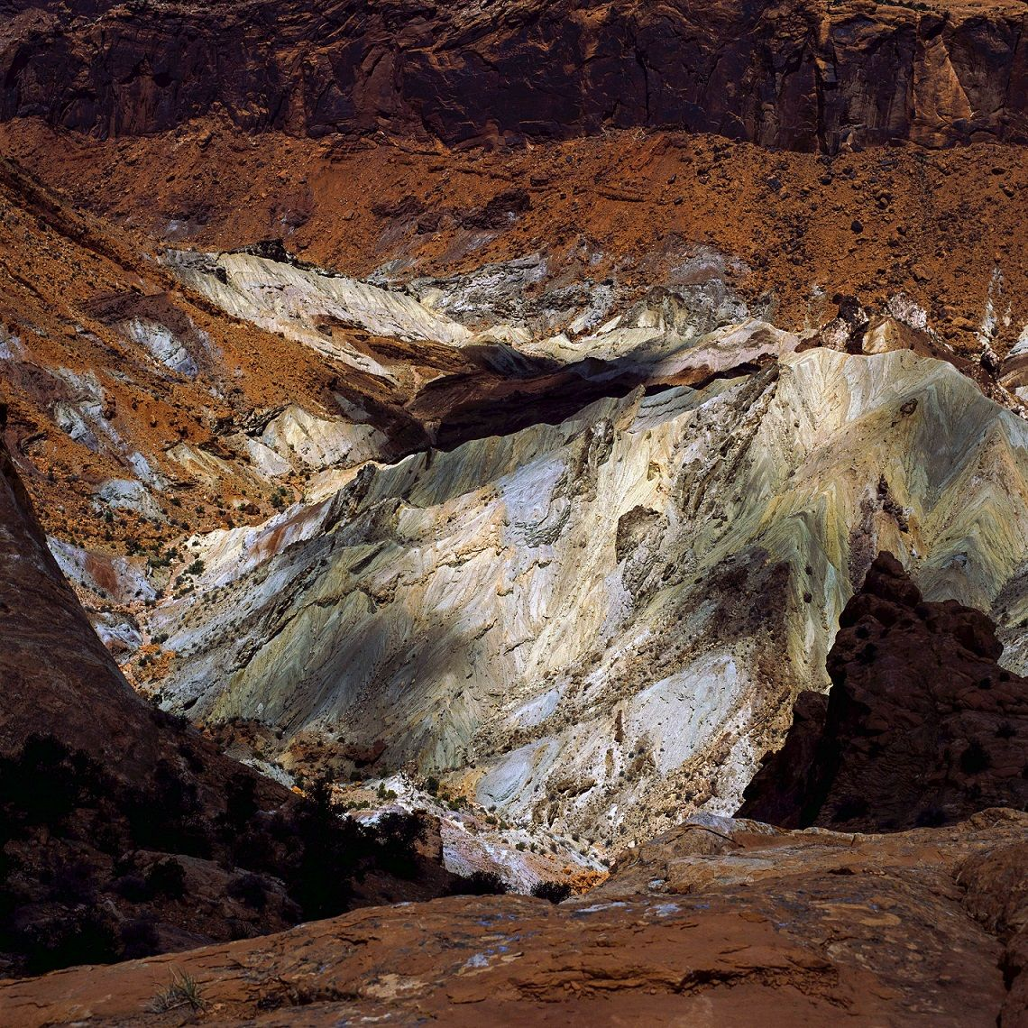 Crater, Série Fracture,Luca Marziale,Photography