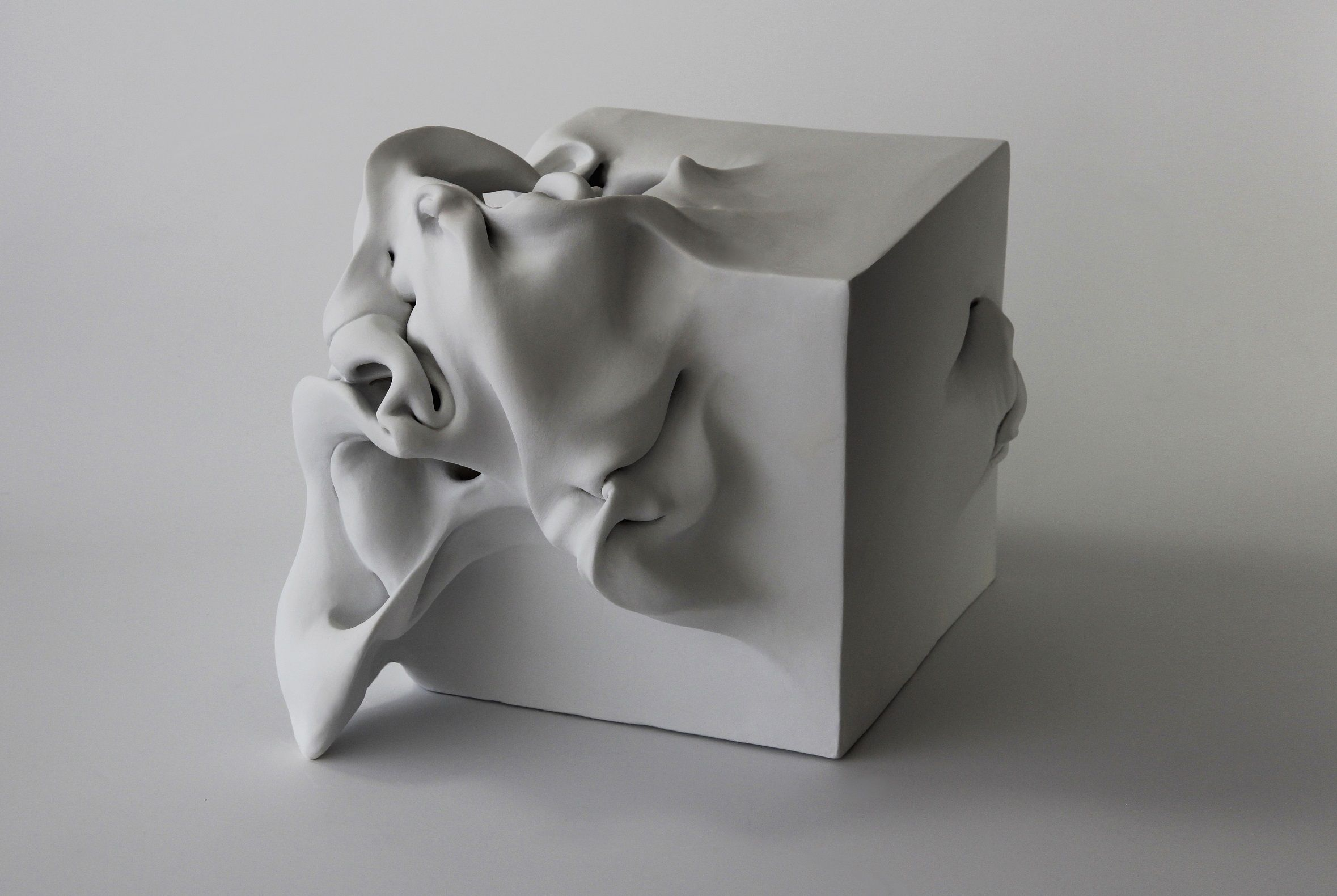 Cube 2,Sharon Brill,Sculpture contemporaine