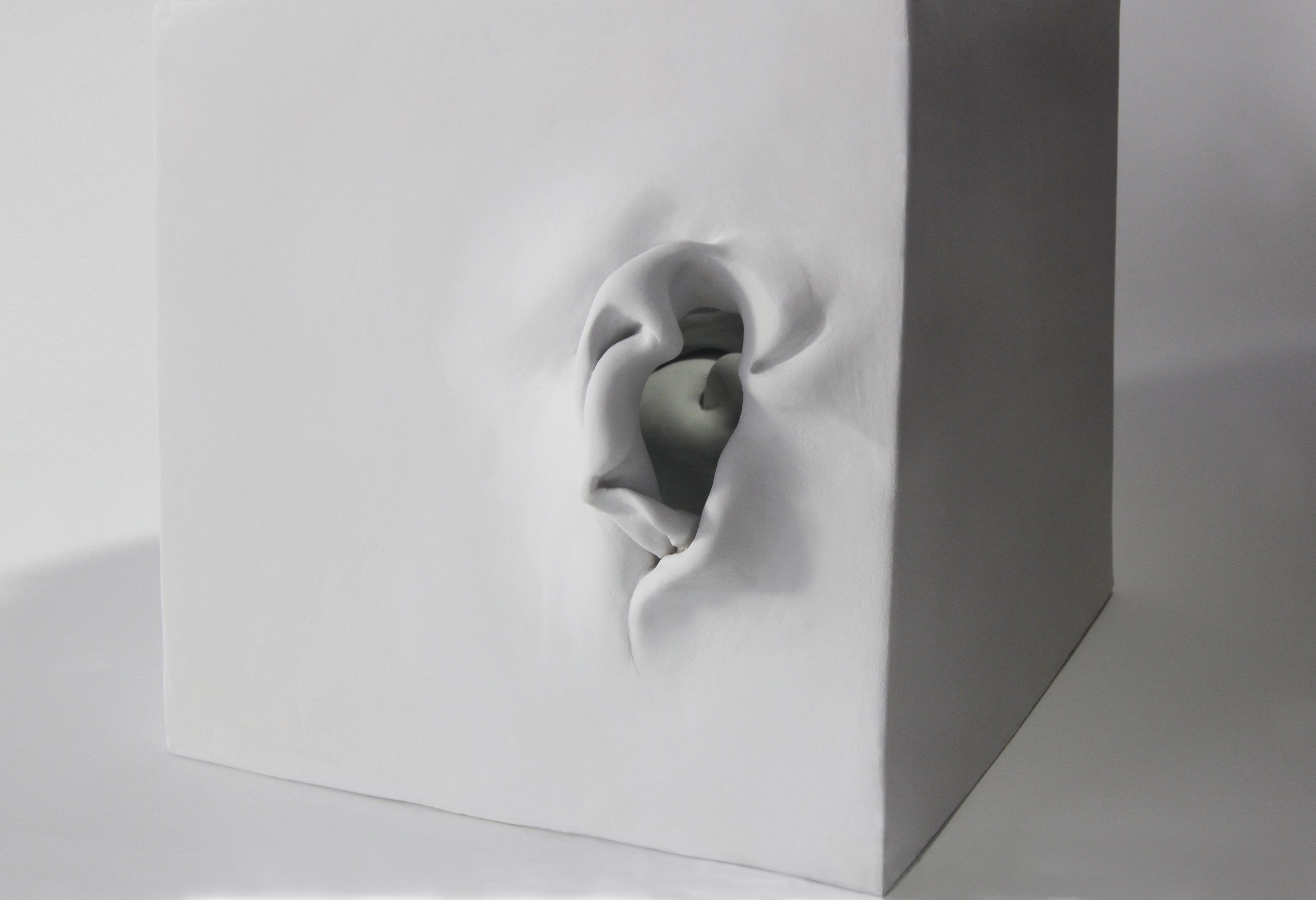 Cube 2,Sharon Brill,Sculpture contemporaine, detail 3