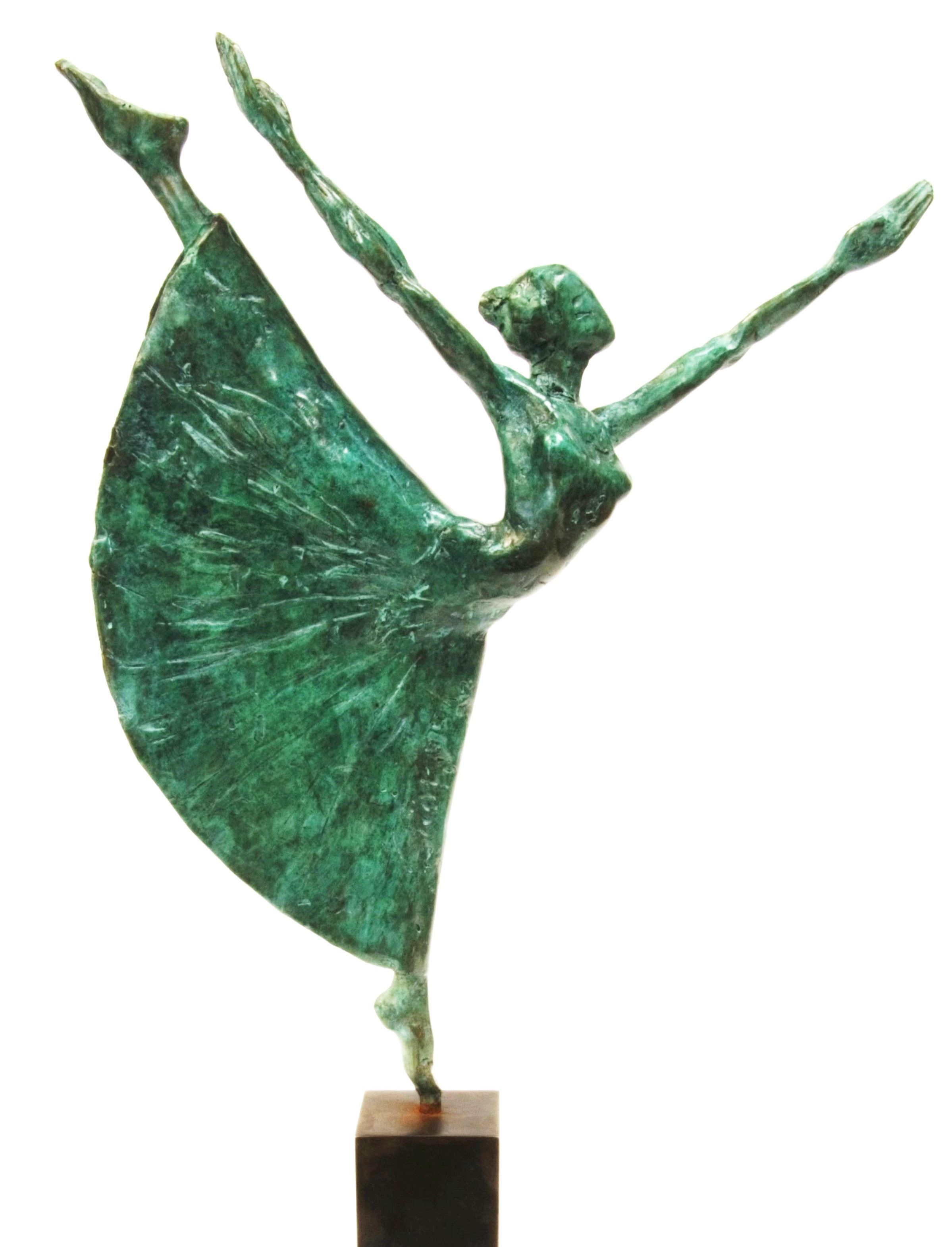 Danseuse au long tutu,Yann Guillon,Sculpture, detail 1