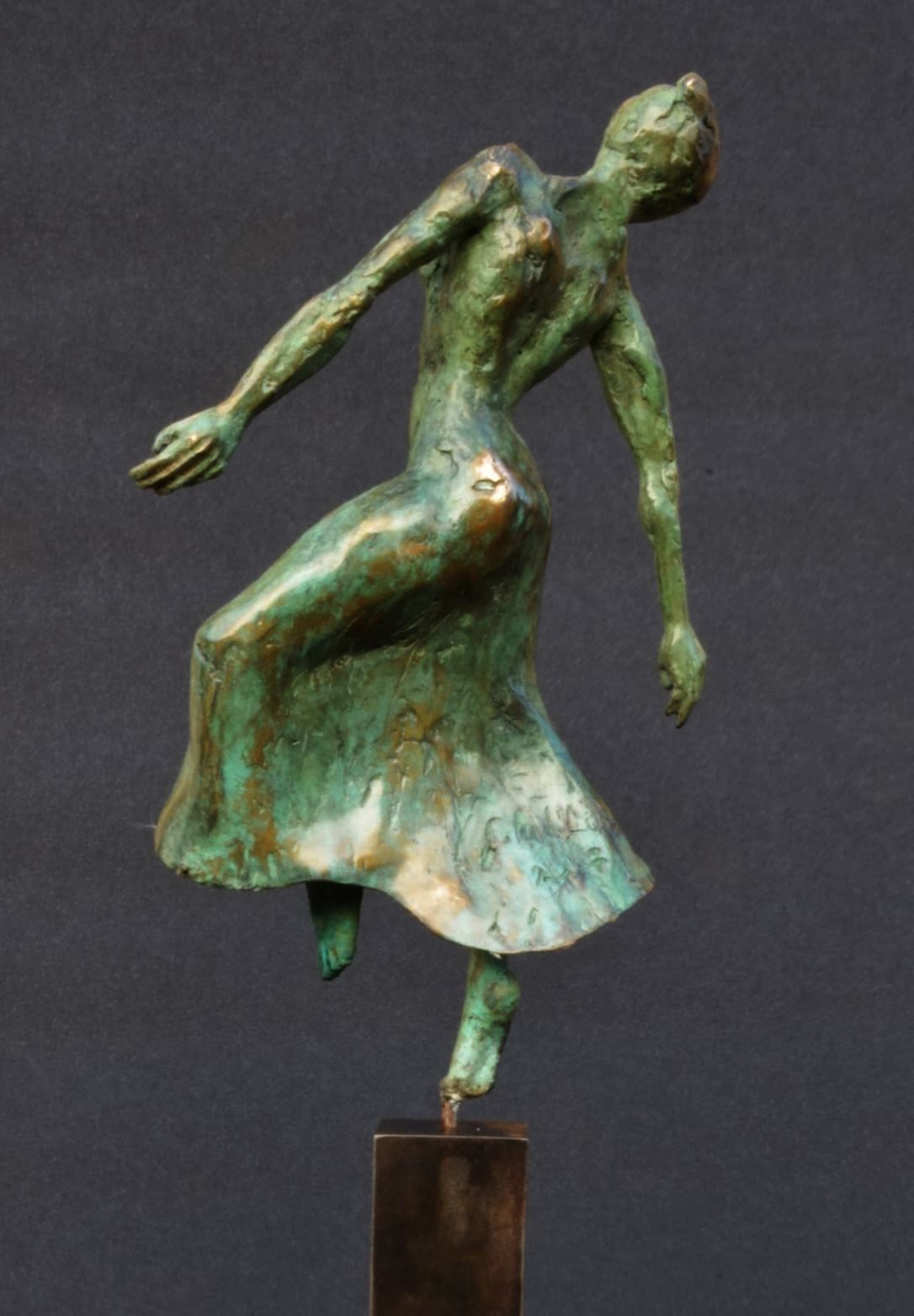 Danseuse moderne II,Yann Guillon,Sculpture contemporaine, detail 1